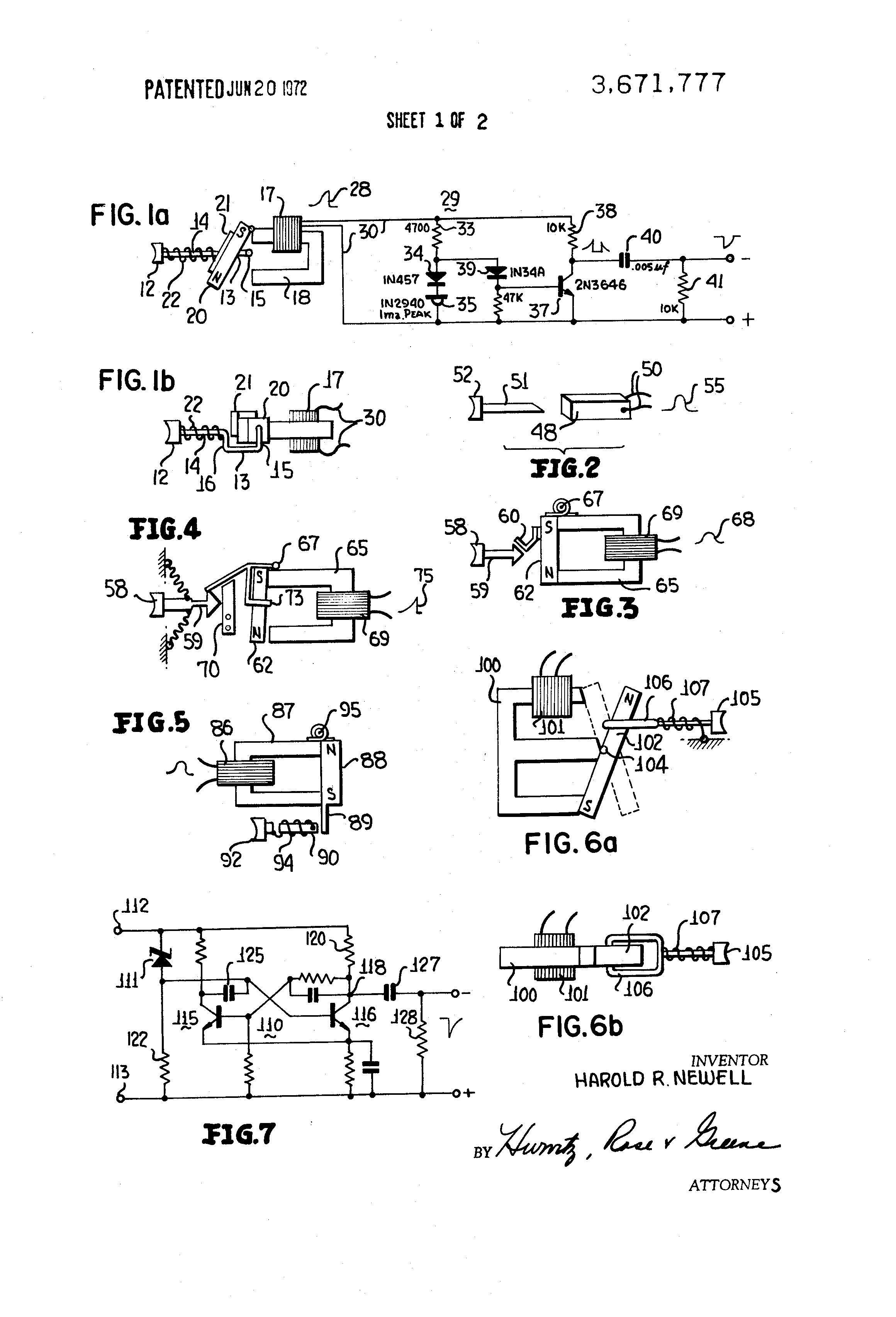 Patent Us3671777 Fast Rise Time Pulse Generator Google Patents Circuit Diagram Drawing