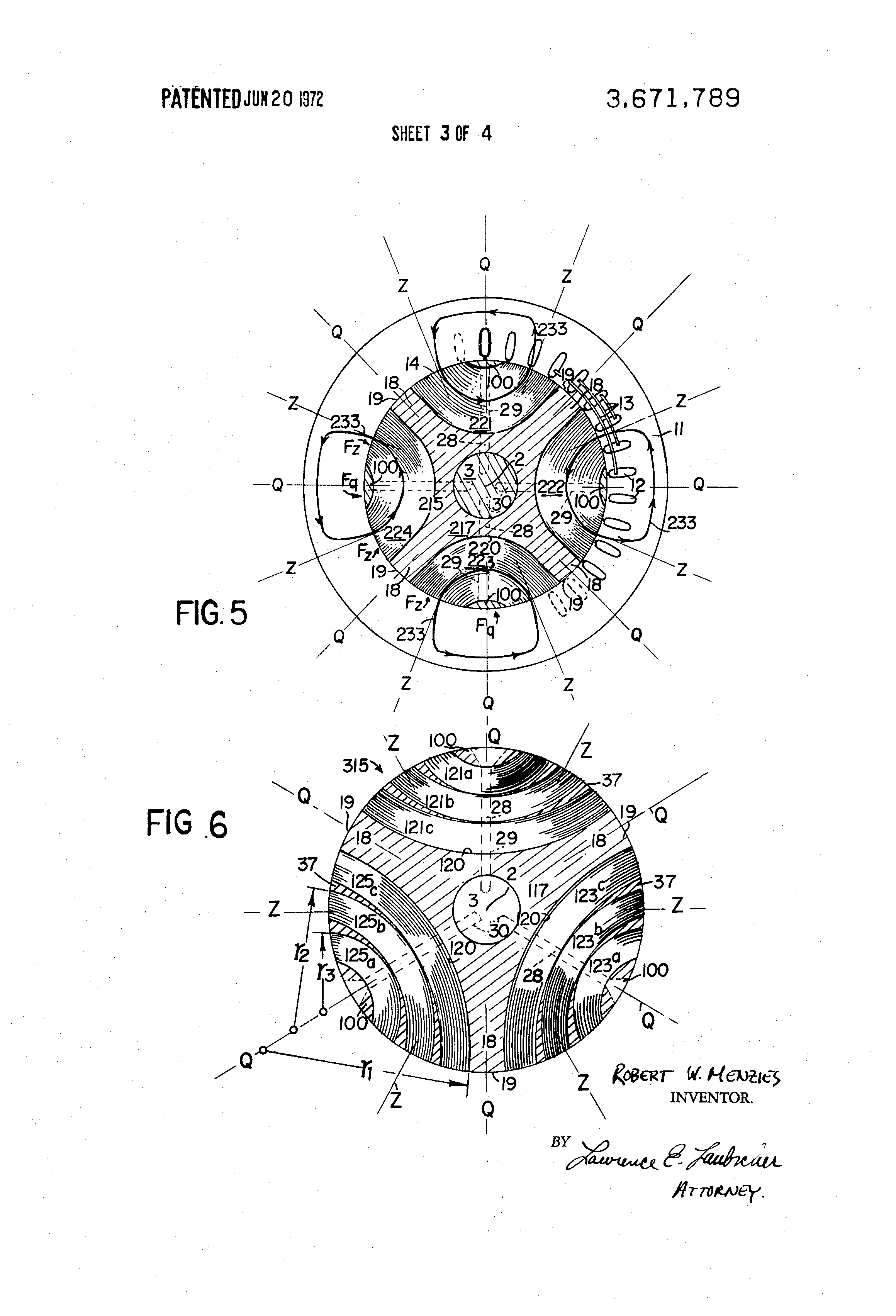 Patent Us3671789 Synchronous Reluctance Motors Having