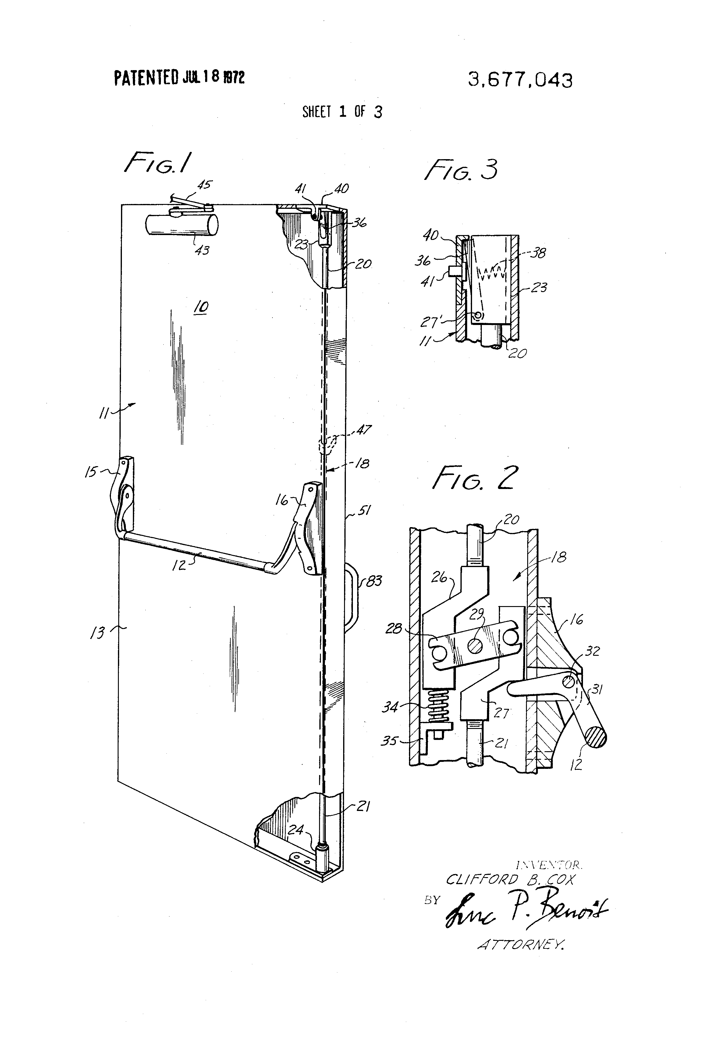 US3677043 1 patent us3677043 remote control door lock google patents  at edmiracle.co