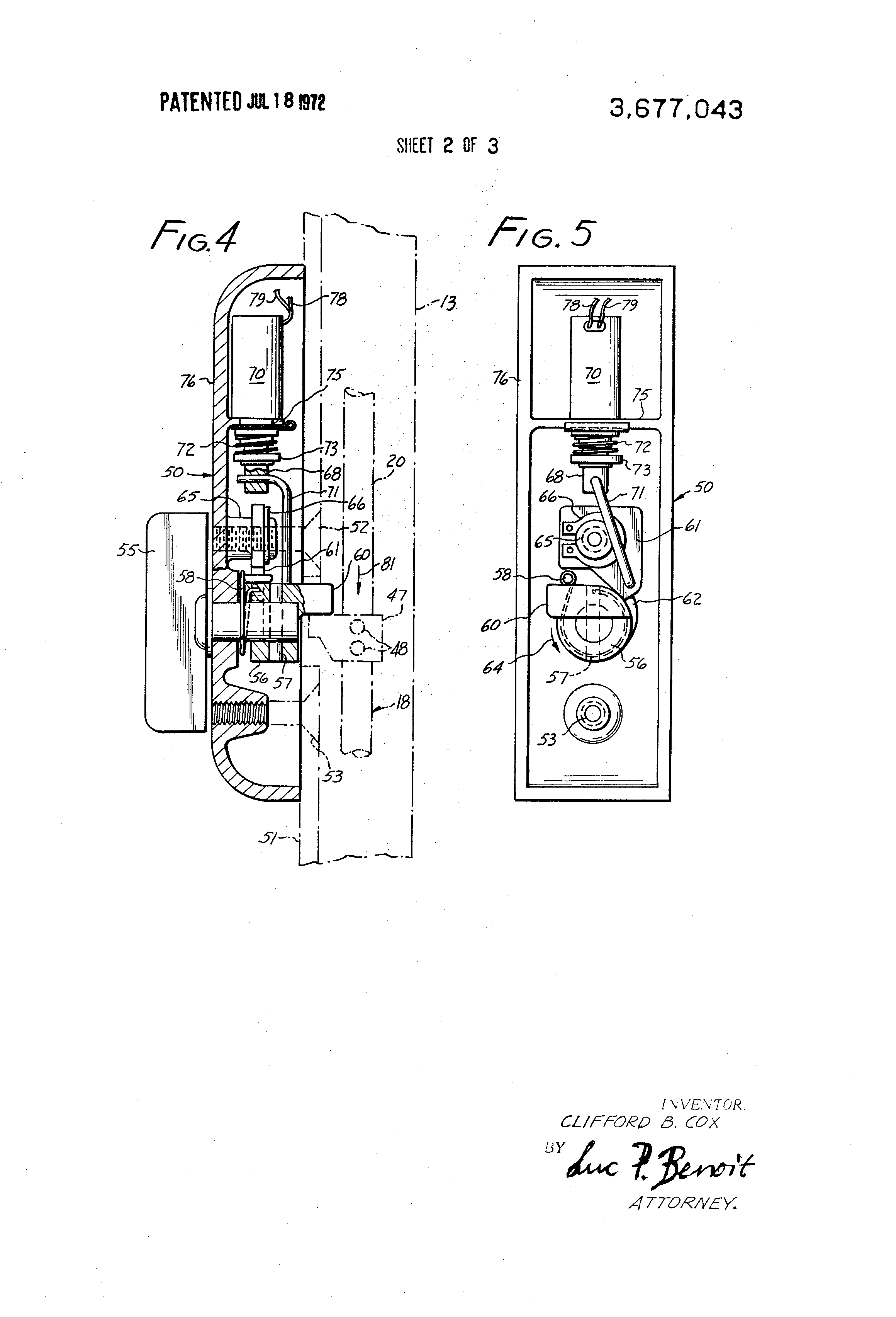 US3677043 2 patent us3677043 remote control door lock google patents  at eliteediting.co