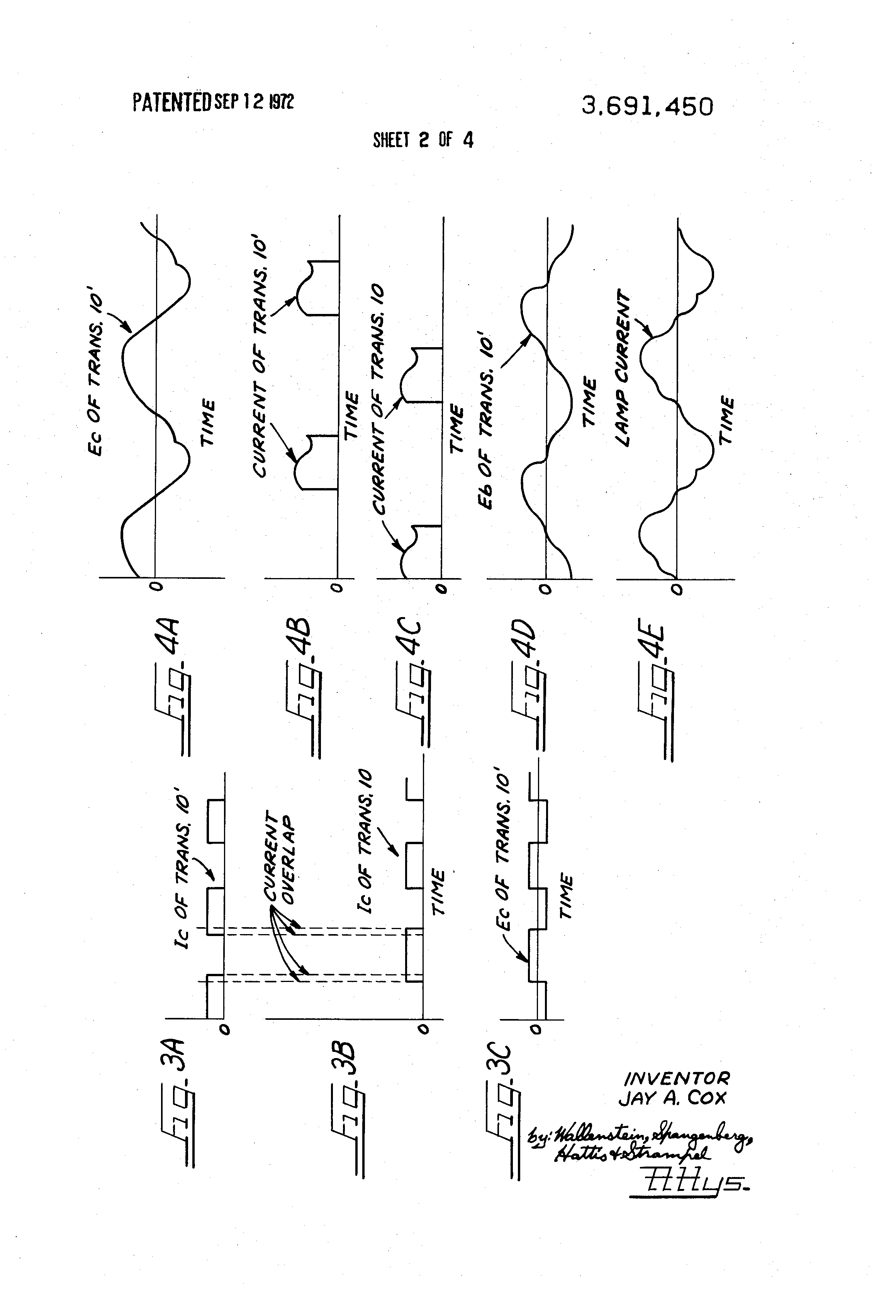 Patent Us3691450 Power Inverter Oscillator Circuit Google Patents Diagram Composed Of Crystal Drawing