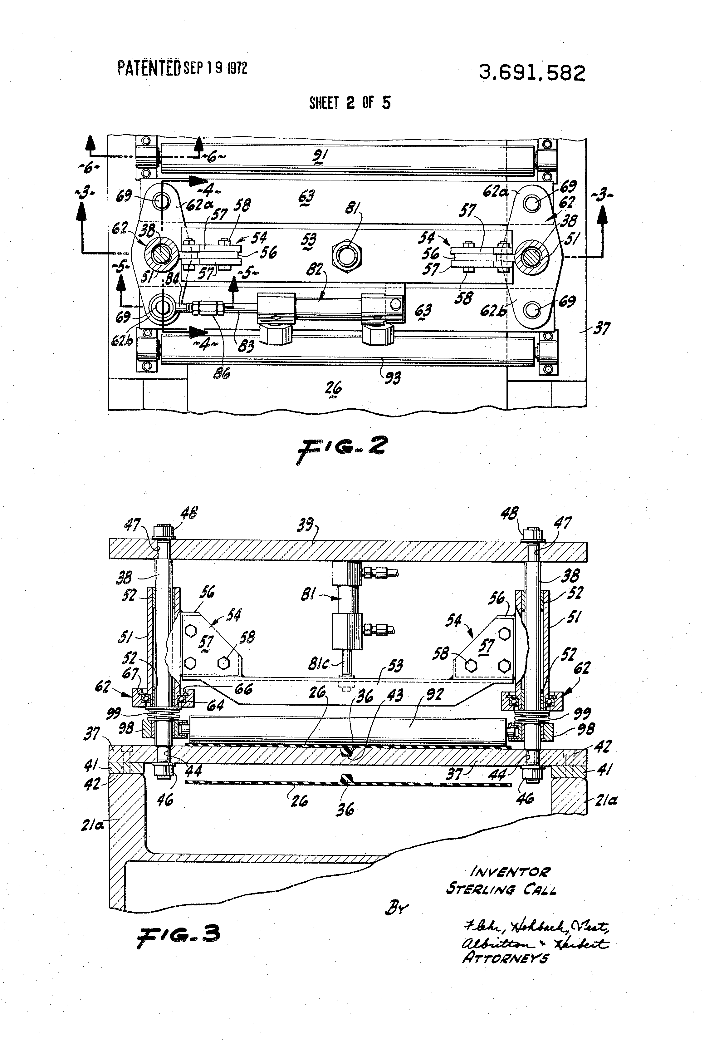 patent us3691582 - machine for cleaning printed circuit board
