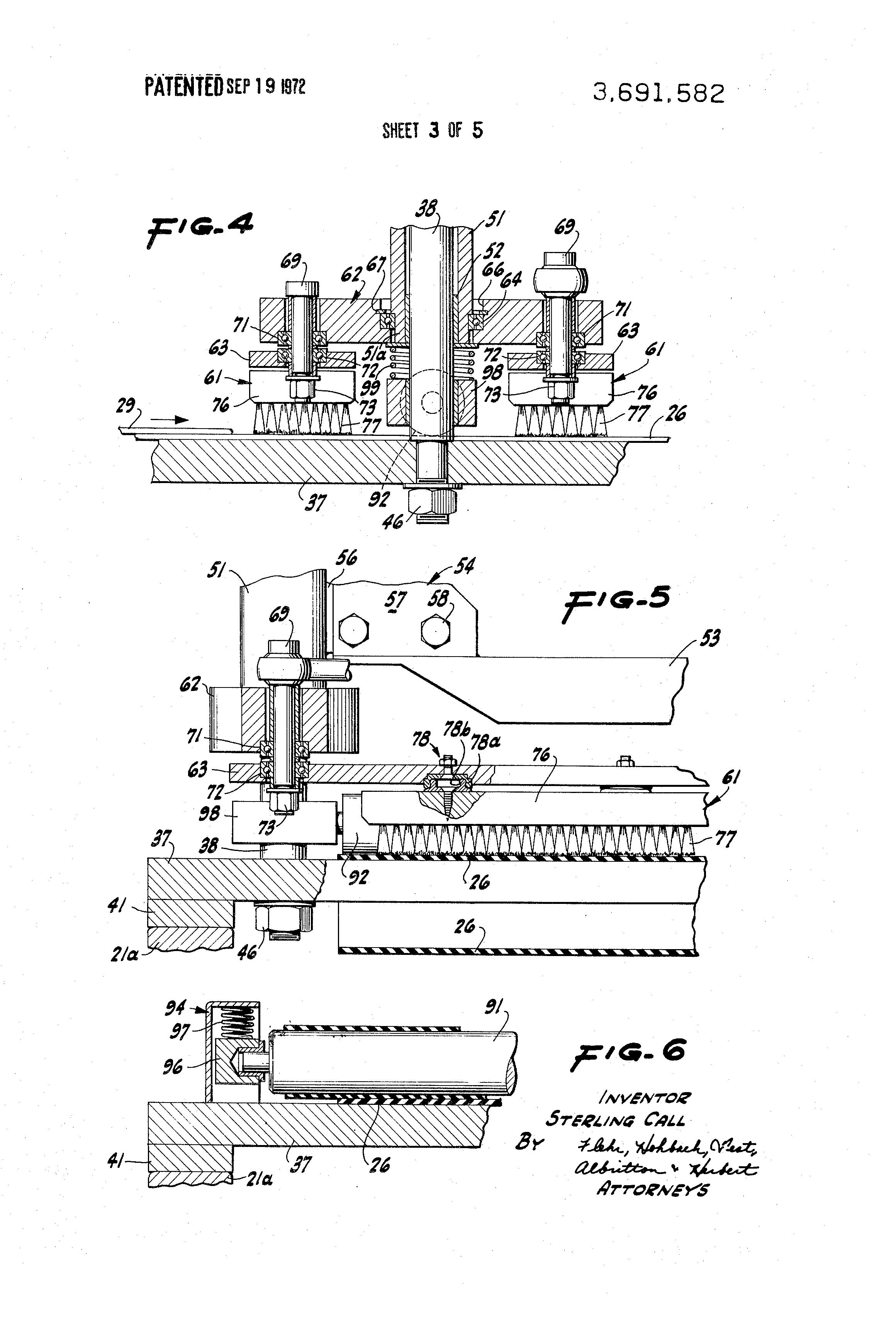 patent us3691582