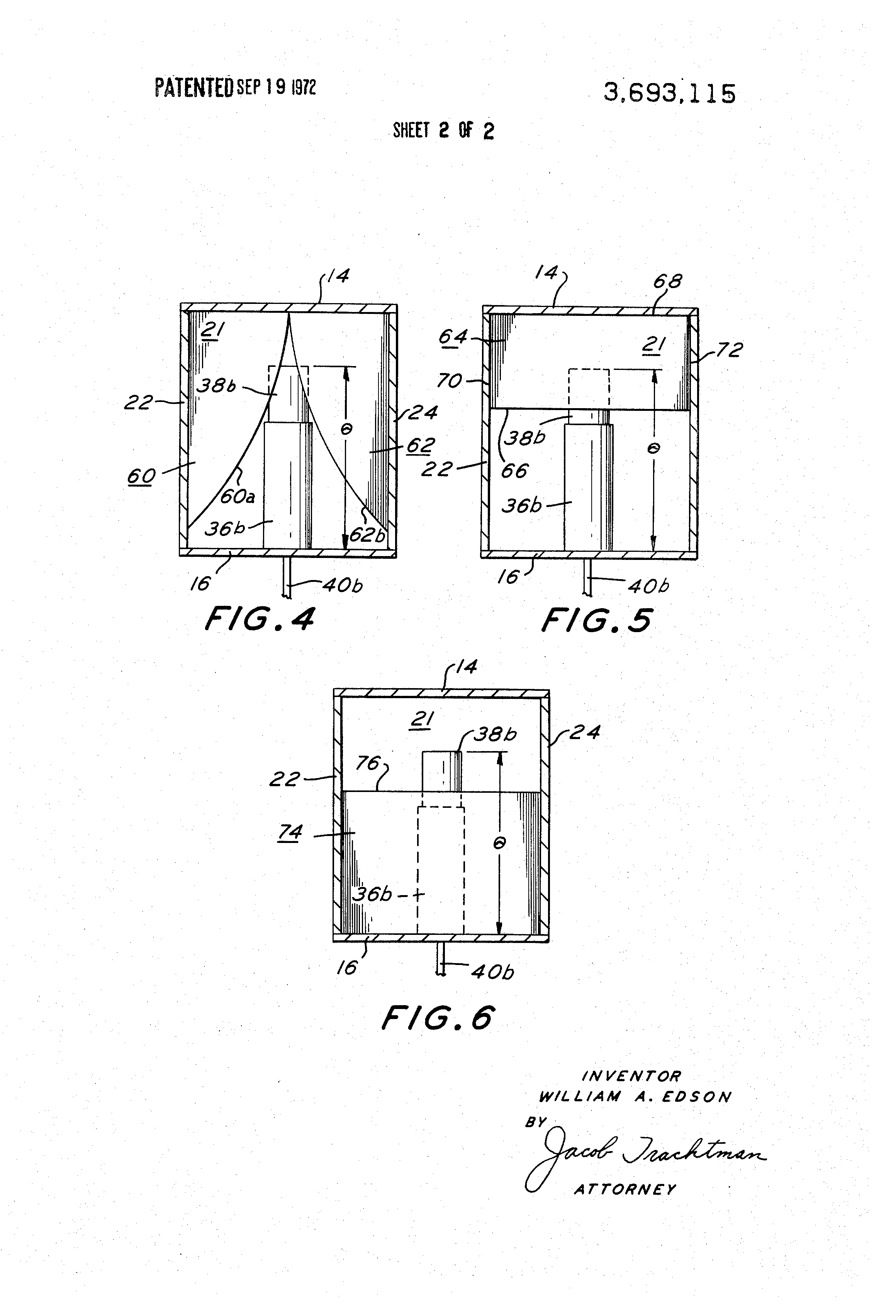 Patent US3693115 - Mechanical tunable bandpass filter - Google Patents