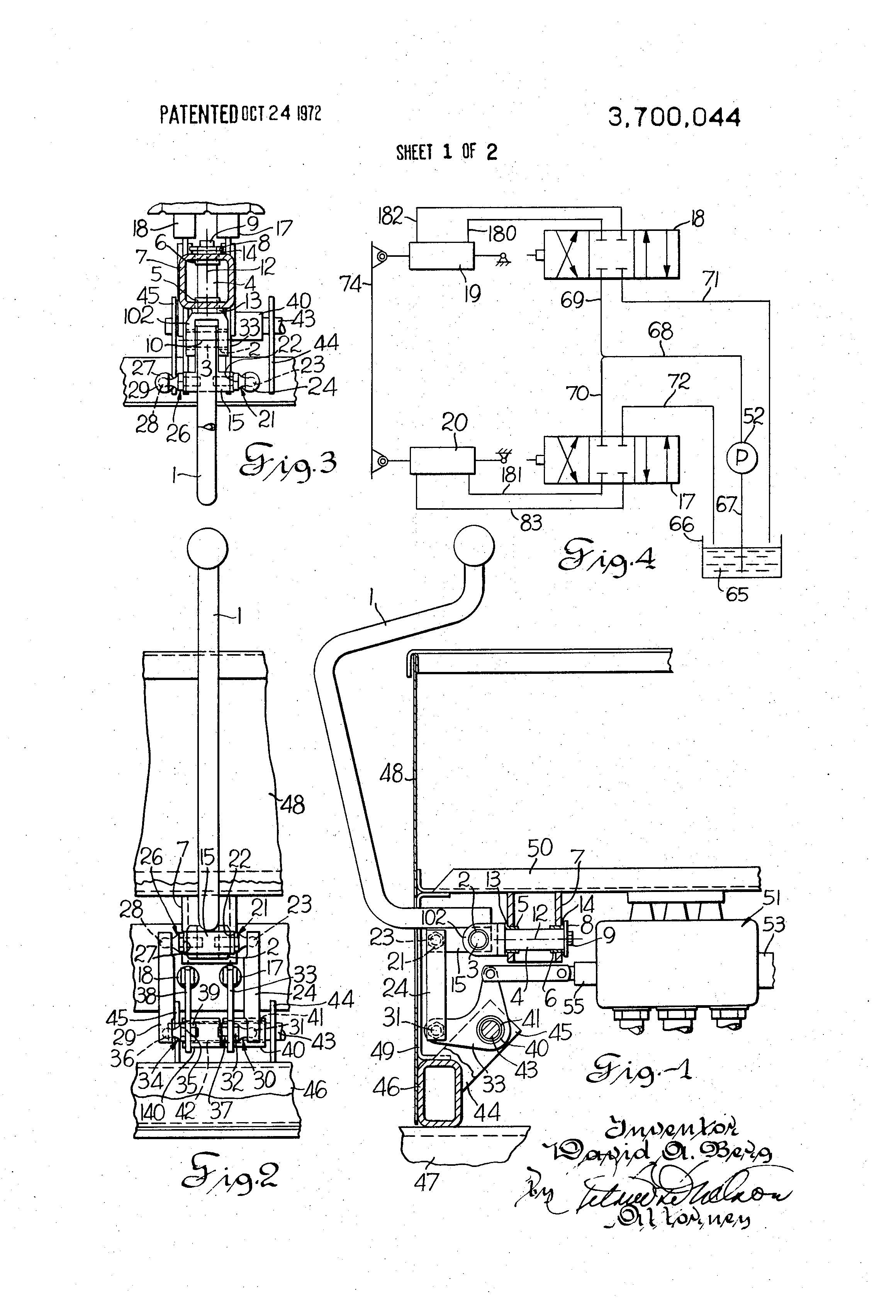 patent us hydraulic system for controlling bulldozer patent drawing