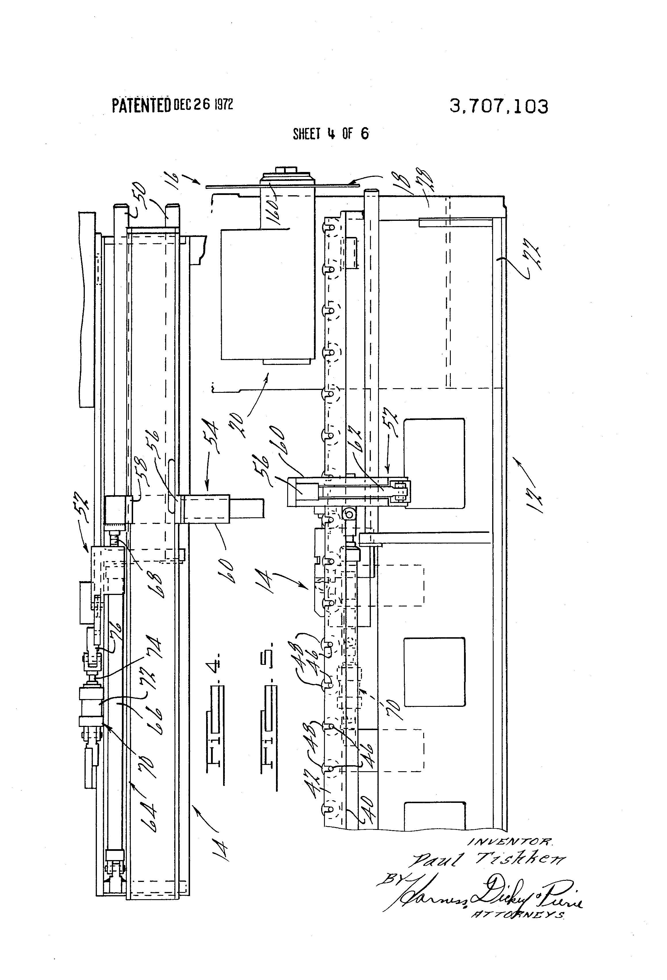 Patent Us3707103 Workstock Cutting Apparatus Google