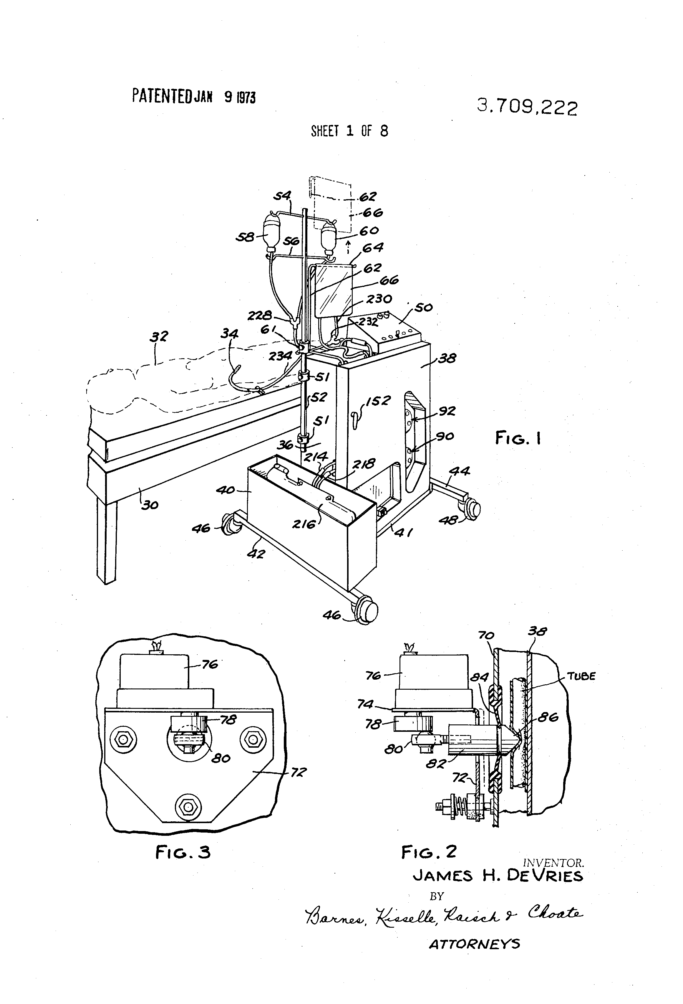 Patent Us3709222 Method And Apparatus For Automatic