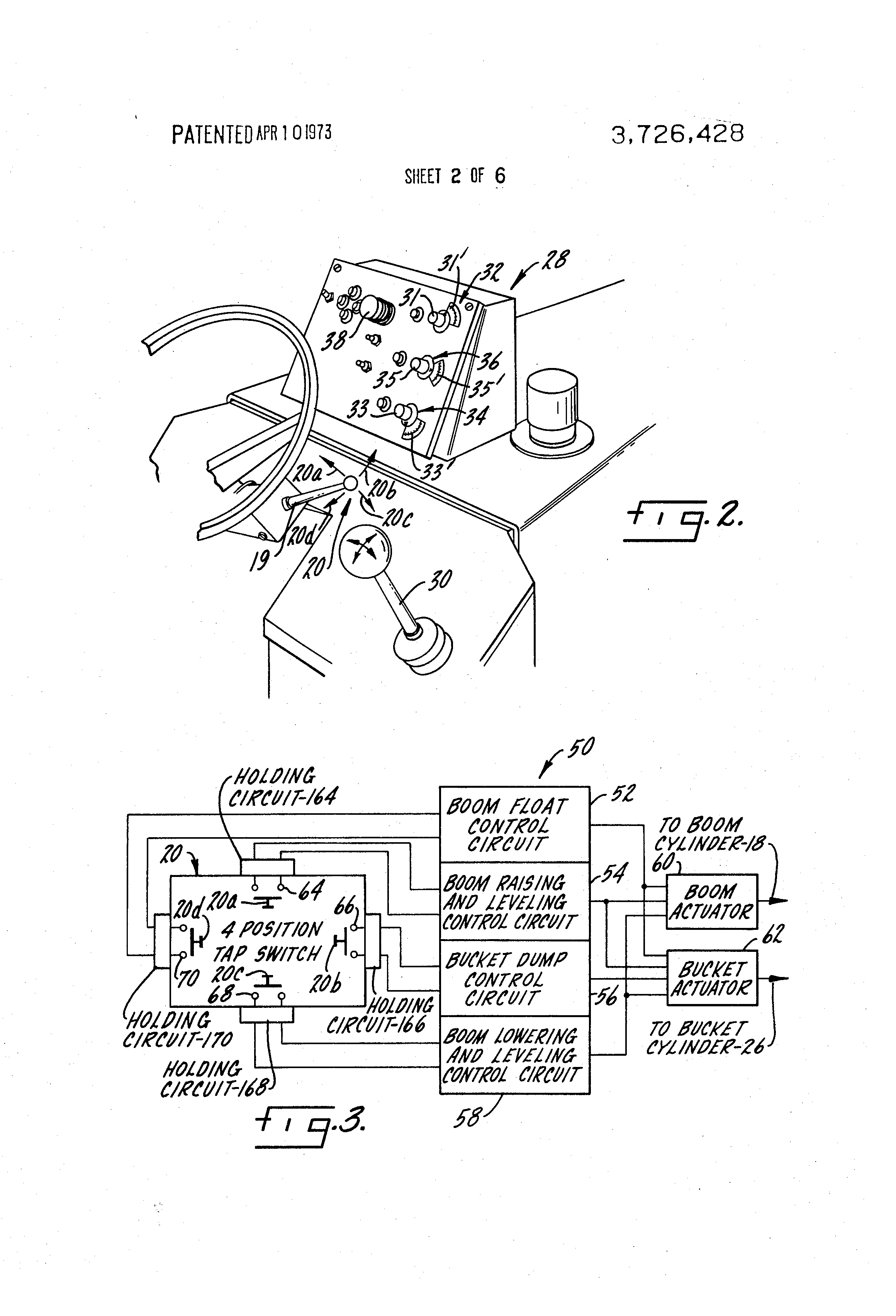 US3726428 2 patent us3726428 control circuit for front end loader google  at eliteediting.co