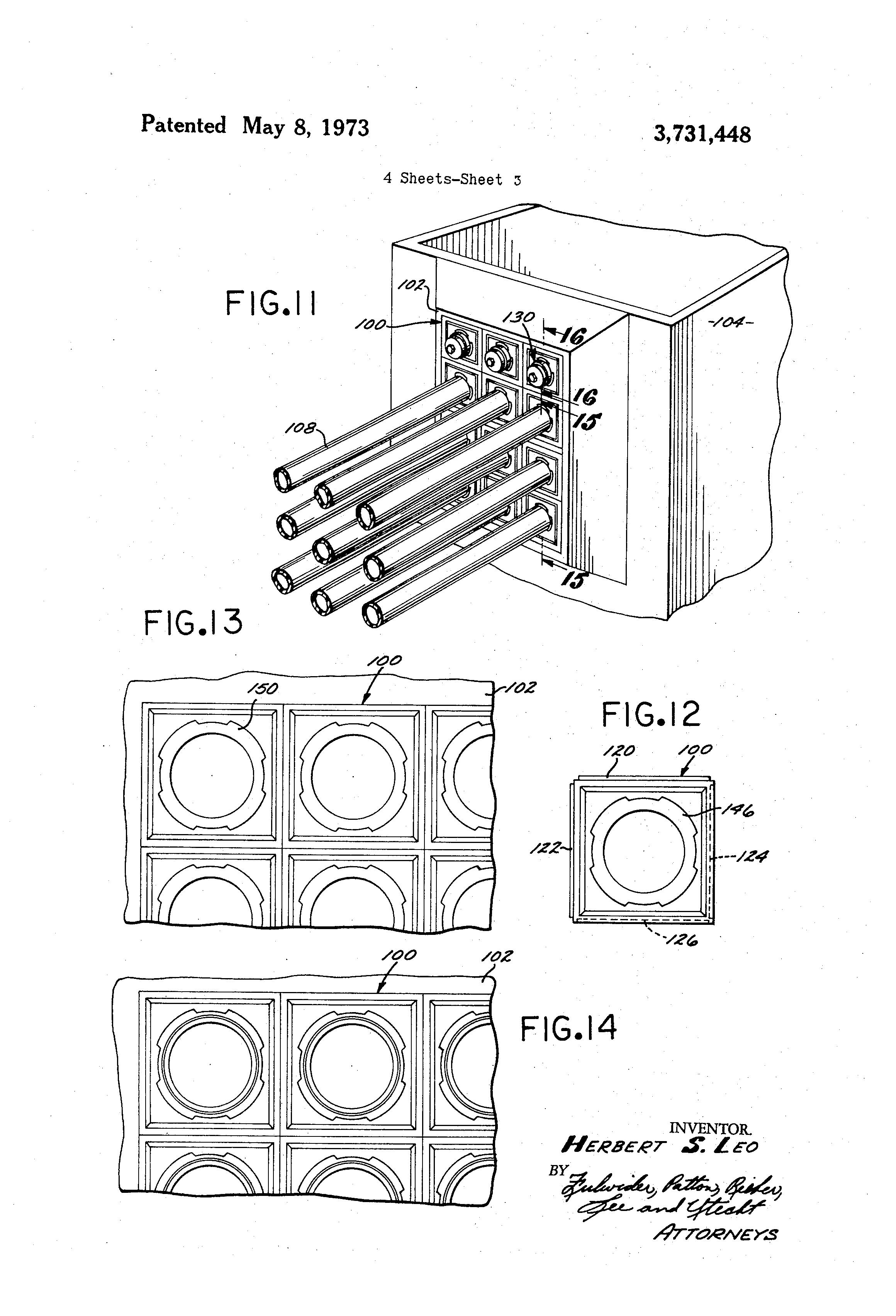 Patent Us3731448 Duct Terminator Google Patents