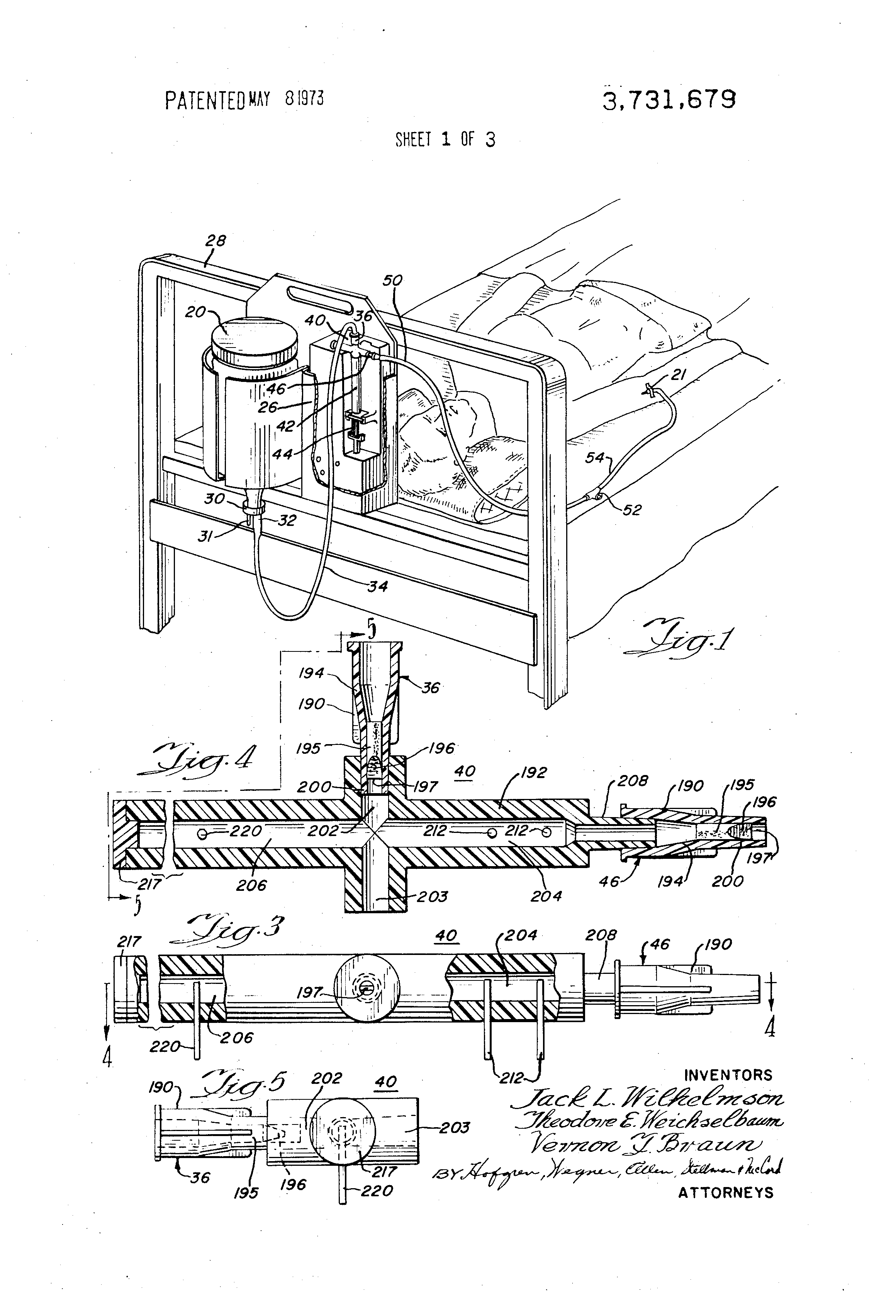 Patent Us3731679 Infusion System Google Patents Is The Bidirectional Dc Motor Circuit Which Allows Forward And Reverse Drawing