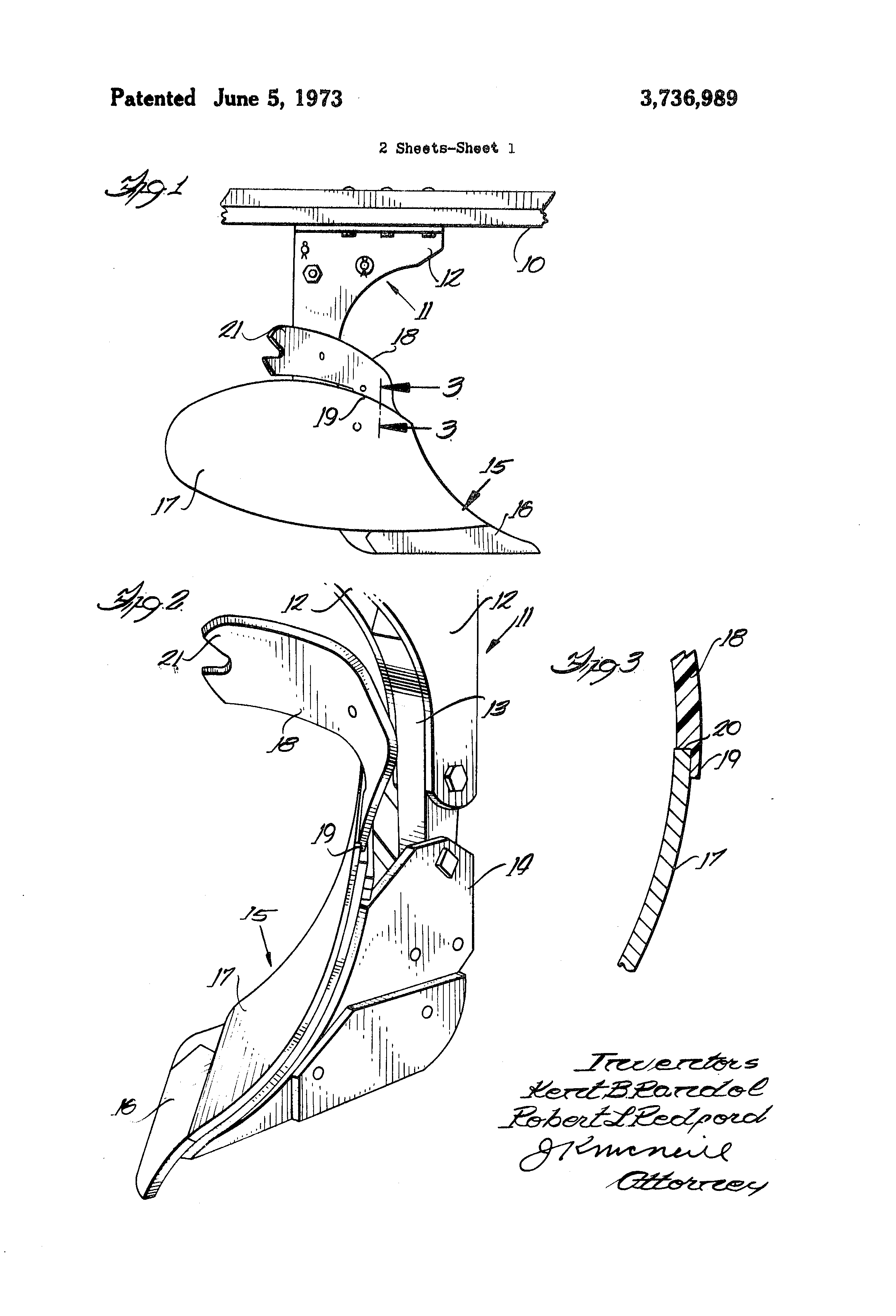 Moldboard Plow Parts : Patent us flexible plastic trash plate for a