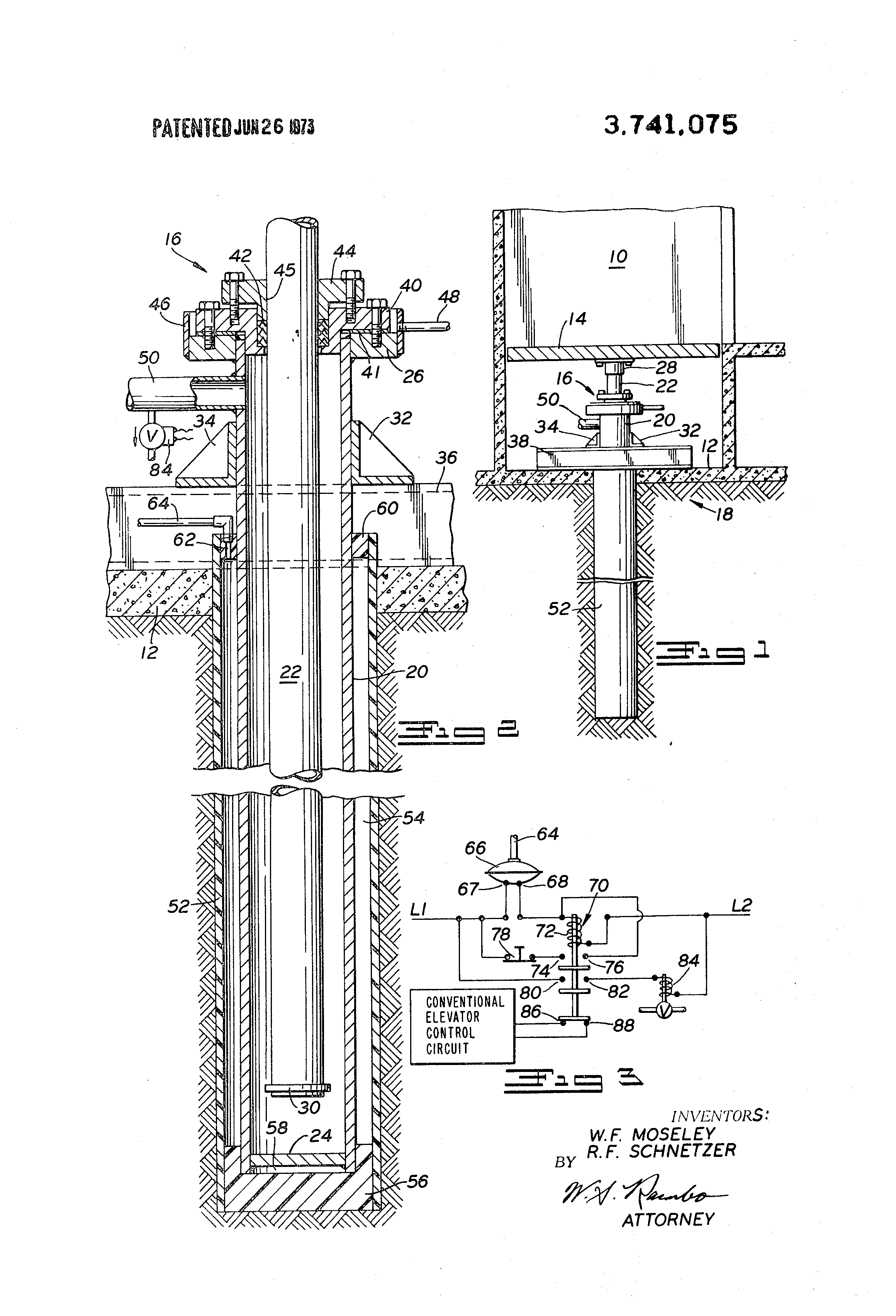 Assembling Hydraulic Elevator System : Patent us safety apparatus for hydraulic elevator