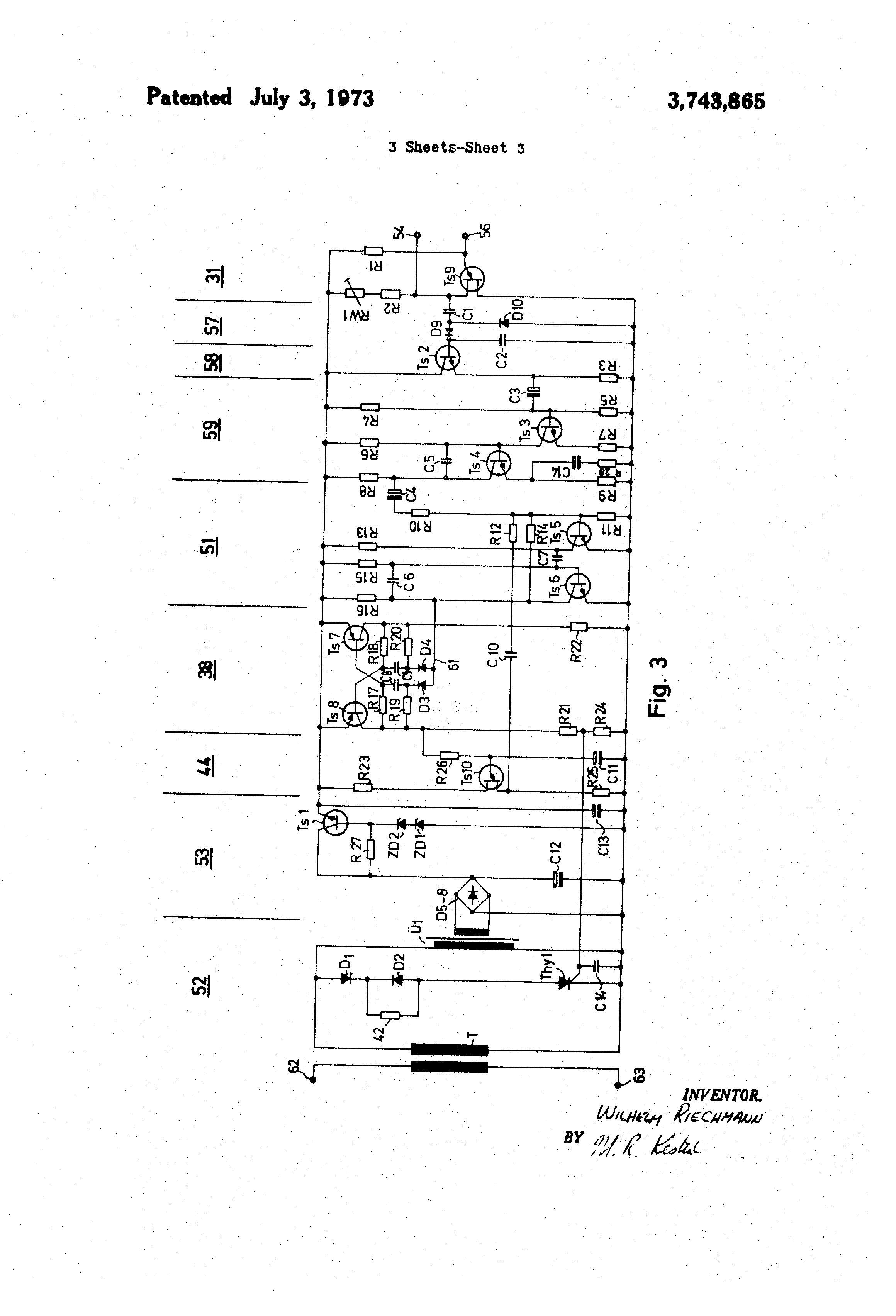 patent us3743865 - proximity switch