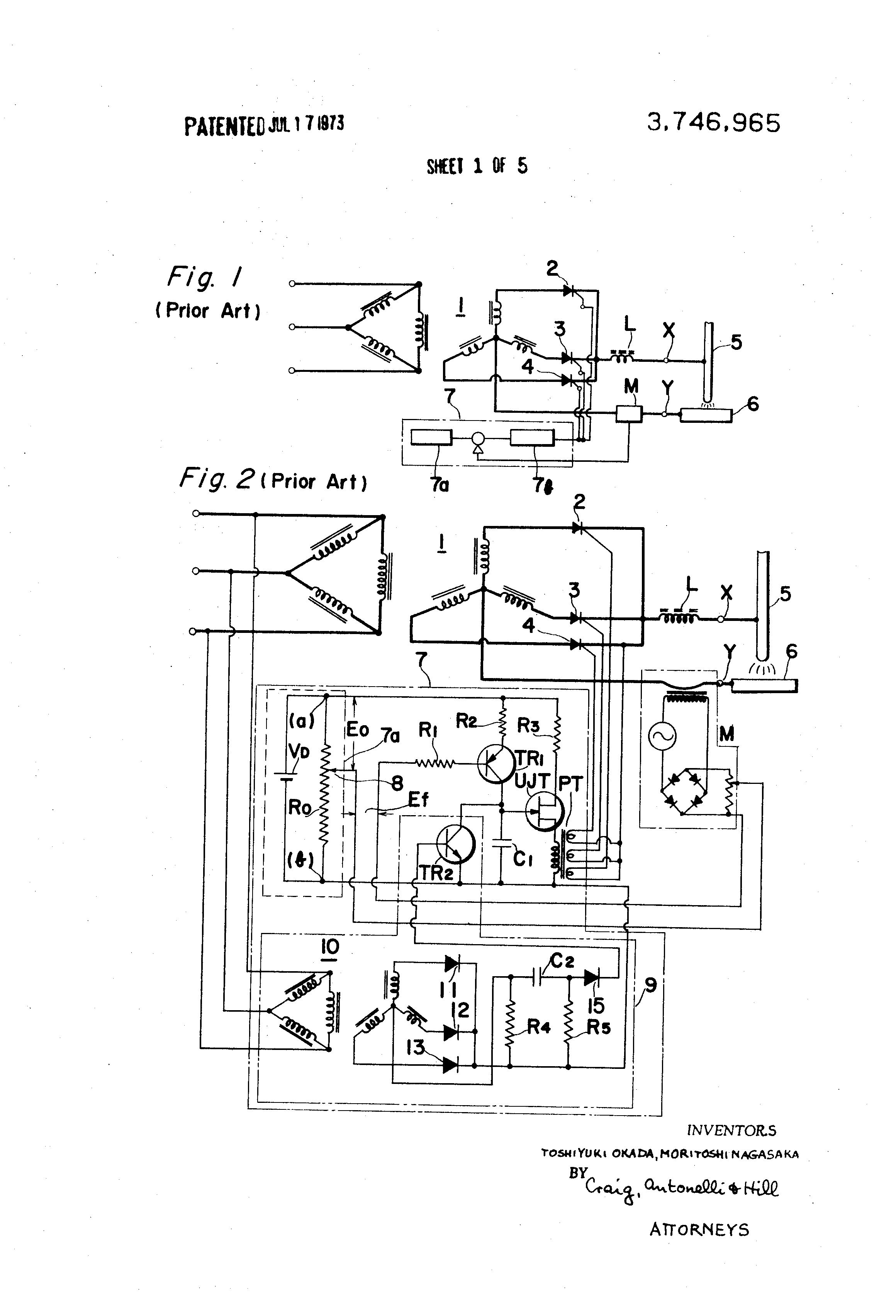 Patent Us3746965 Direct Current Arc Welder Google Patenti Welding Diagram Drawing