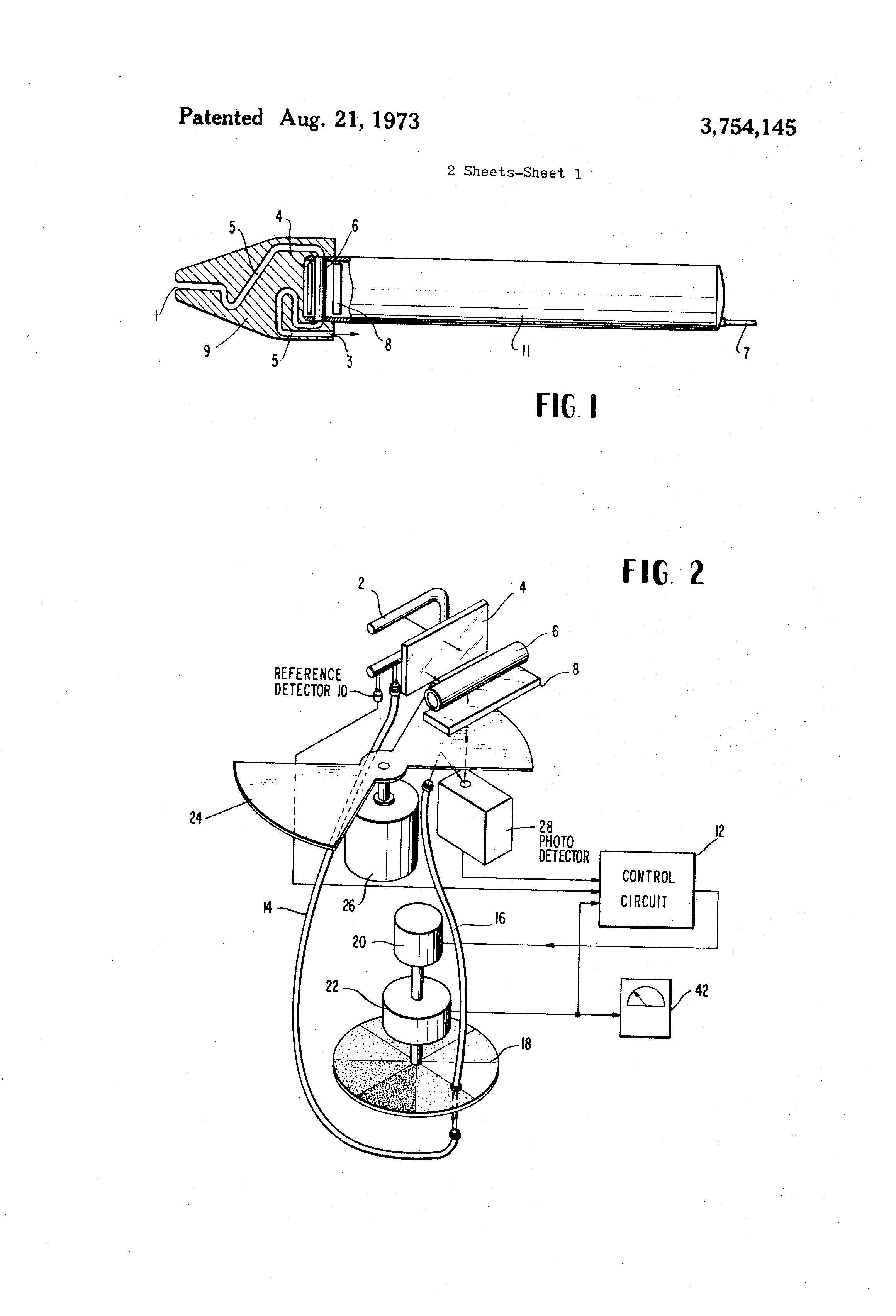 Patent US3754145 - In situ fluorometer - Google Patents on