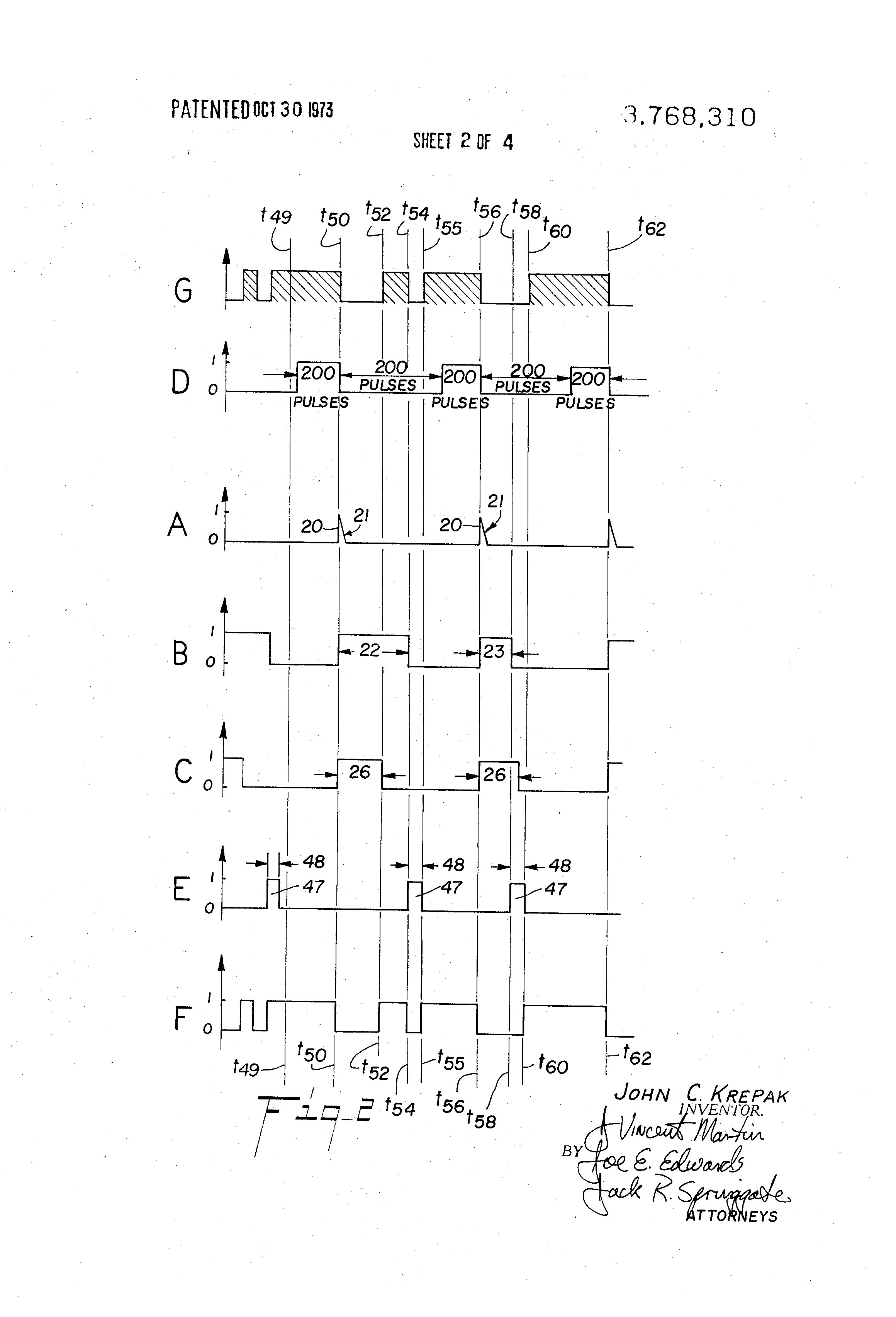 Patent Us3768310 Digital Thermometer Google Patents Figure 1 Circuit Diagram Drawing