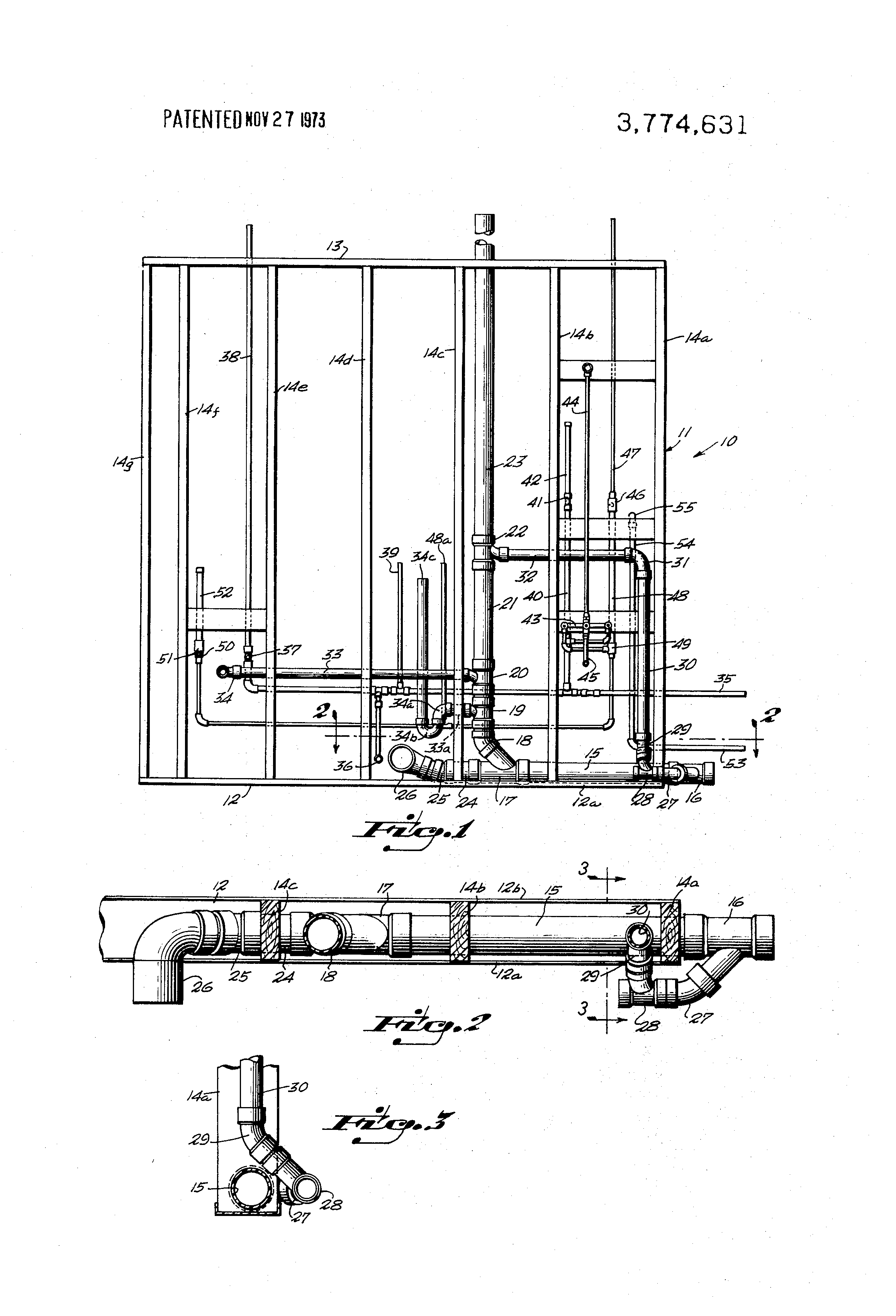 Patent US Prefabricated modular rough plumbing Google