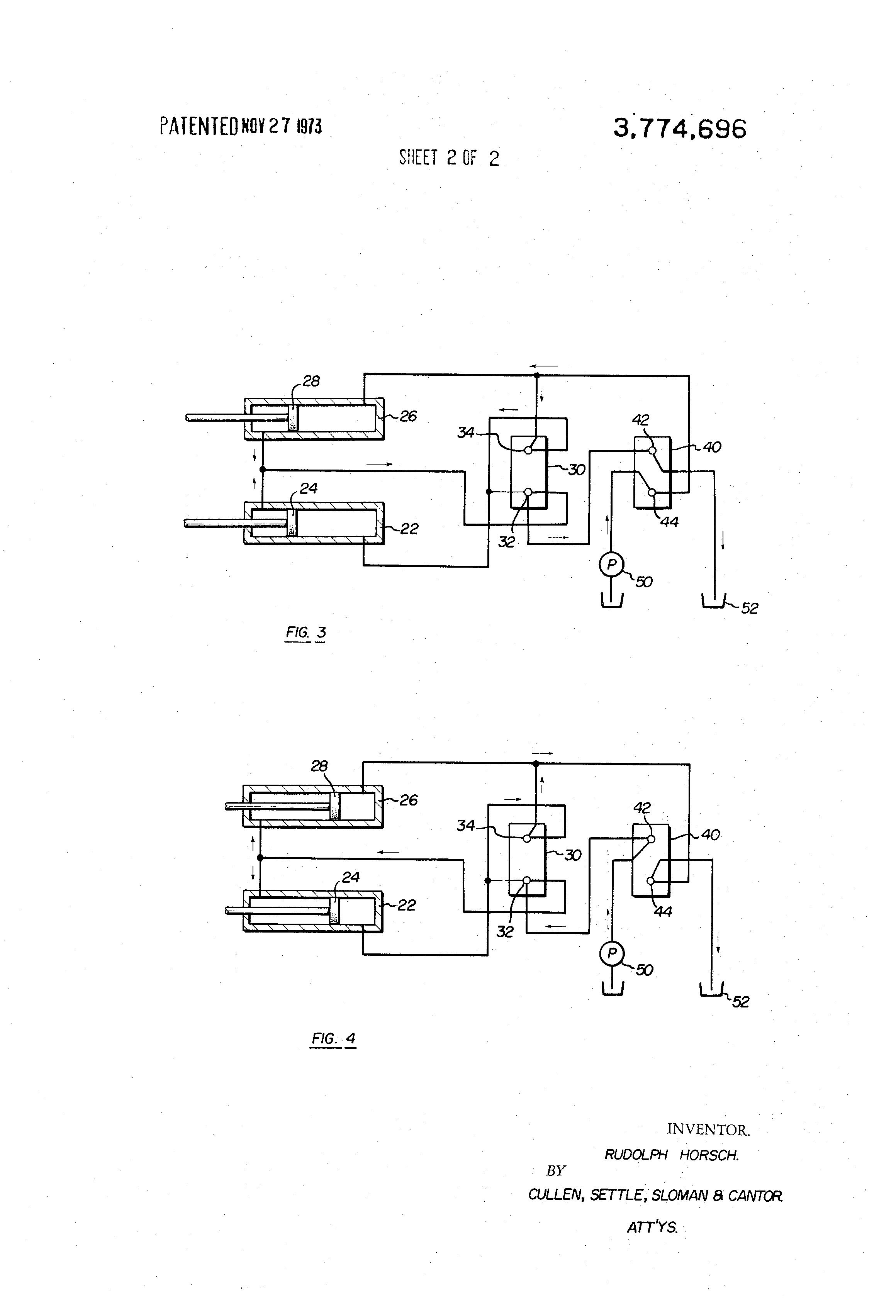 Dozer Hydraulic System Schematic Automotive Wiring Diagram Basic Simple Brevet Us3774696 Pitch Tilt Circuits For Blades Rh Google Dj