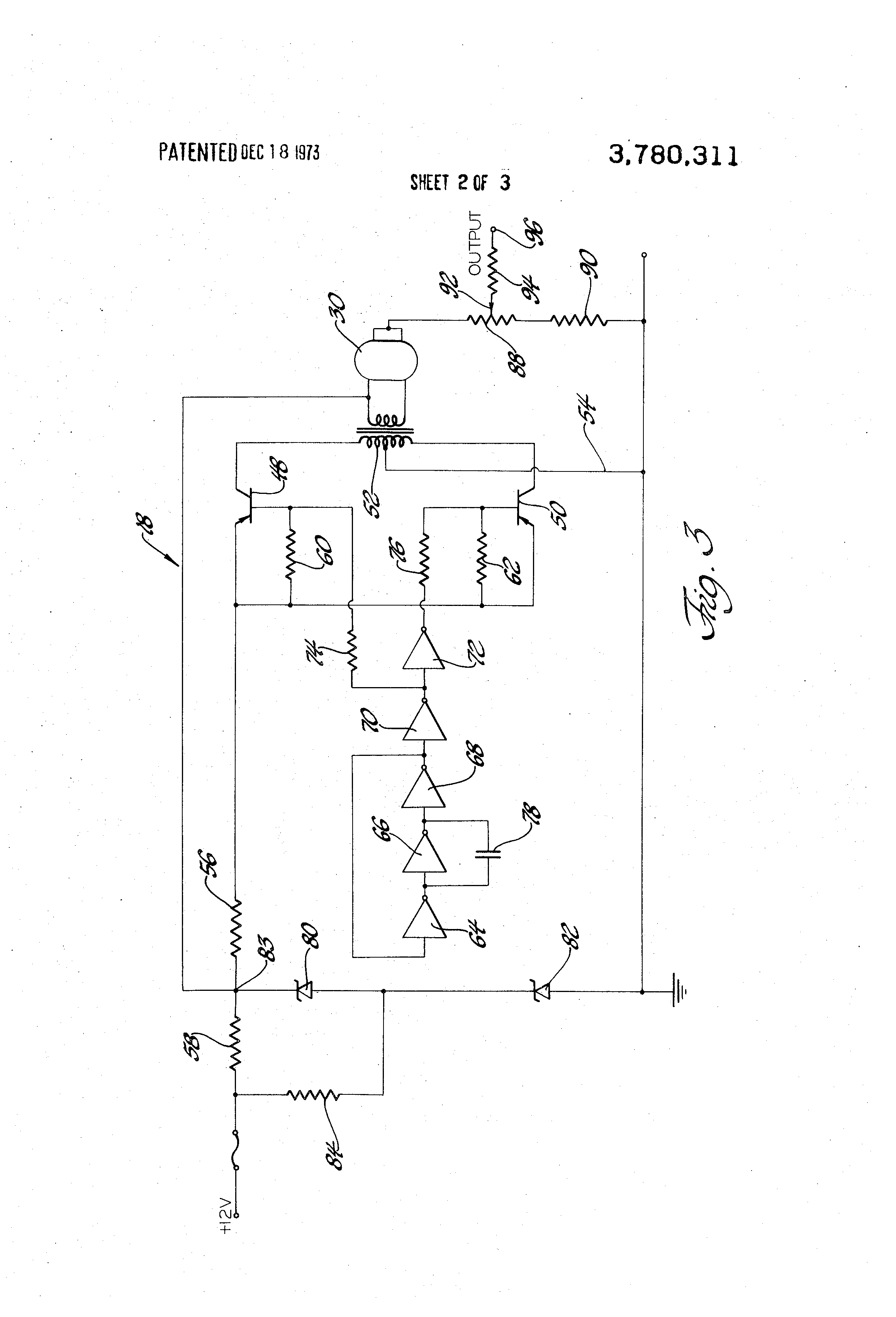 US3780311 2 patent us3780311 breath alcohol detector and automotive ignition on monitech ignition interlock wiring diagram volvo