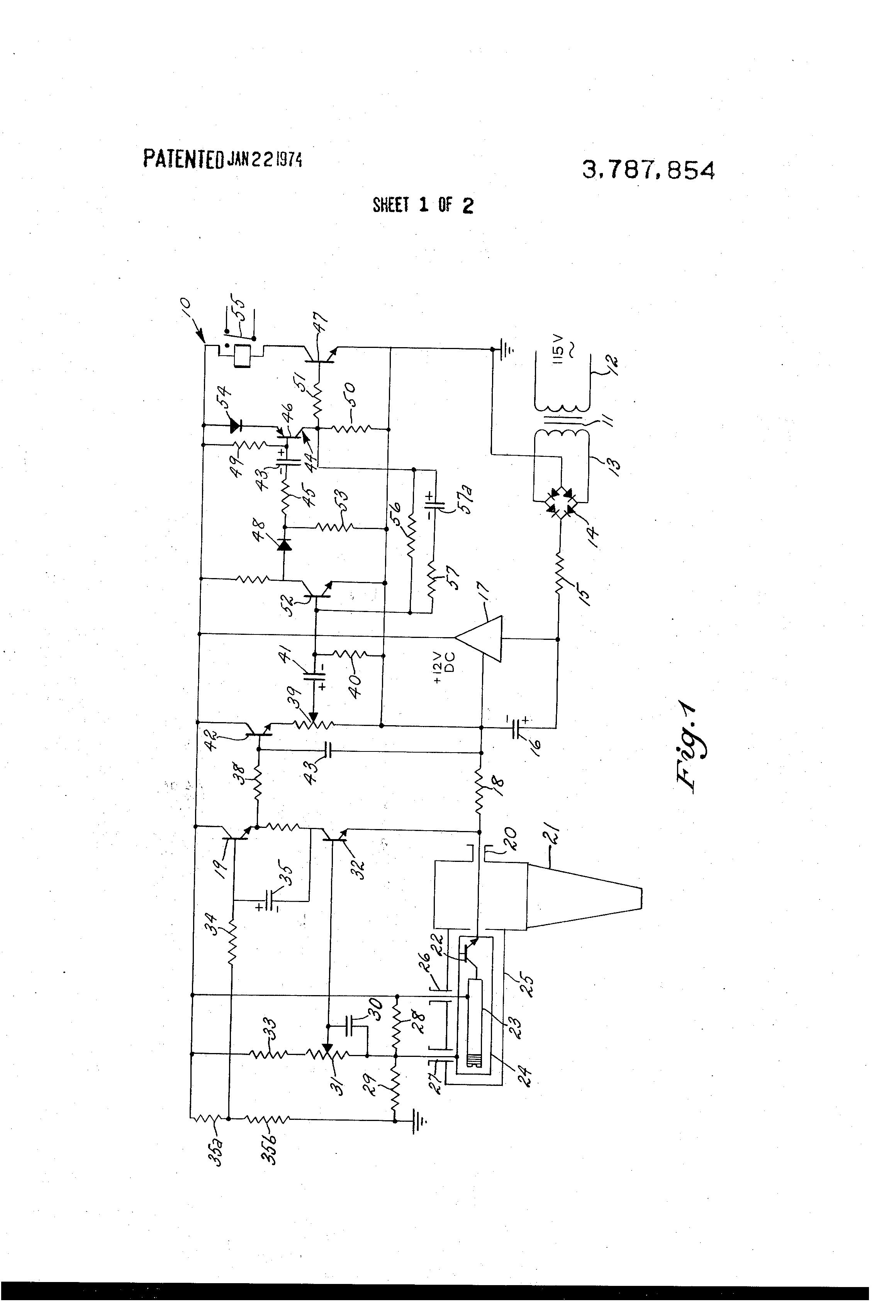 Brevet US3787854 - Noise cancelling self mixing doppler