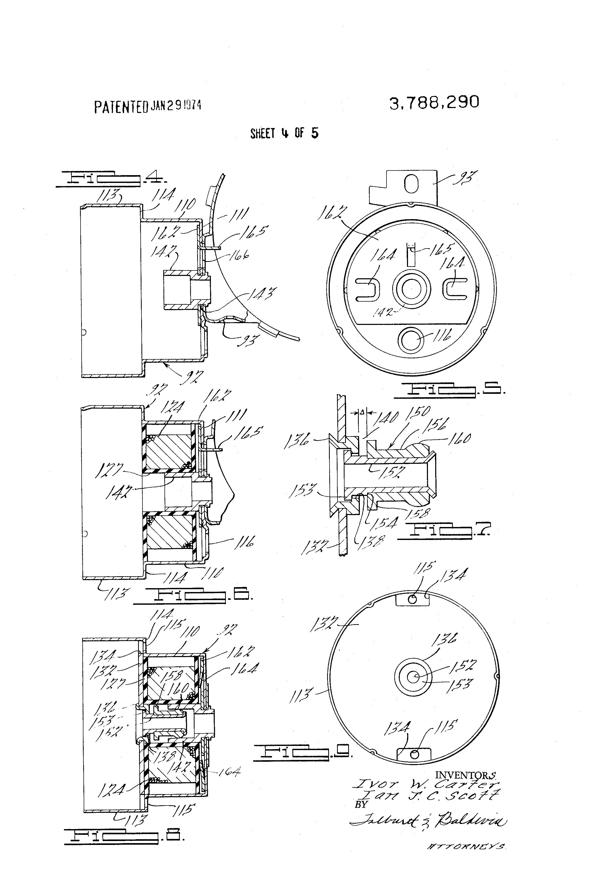 Patent Us3788290 Distributor Actuator Unit With Solenoid