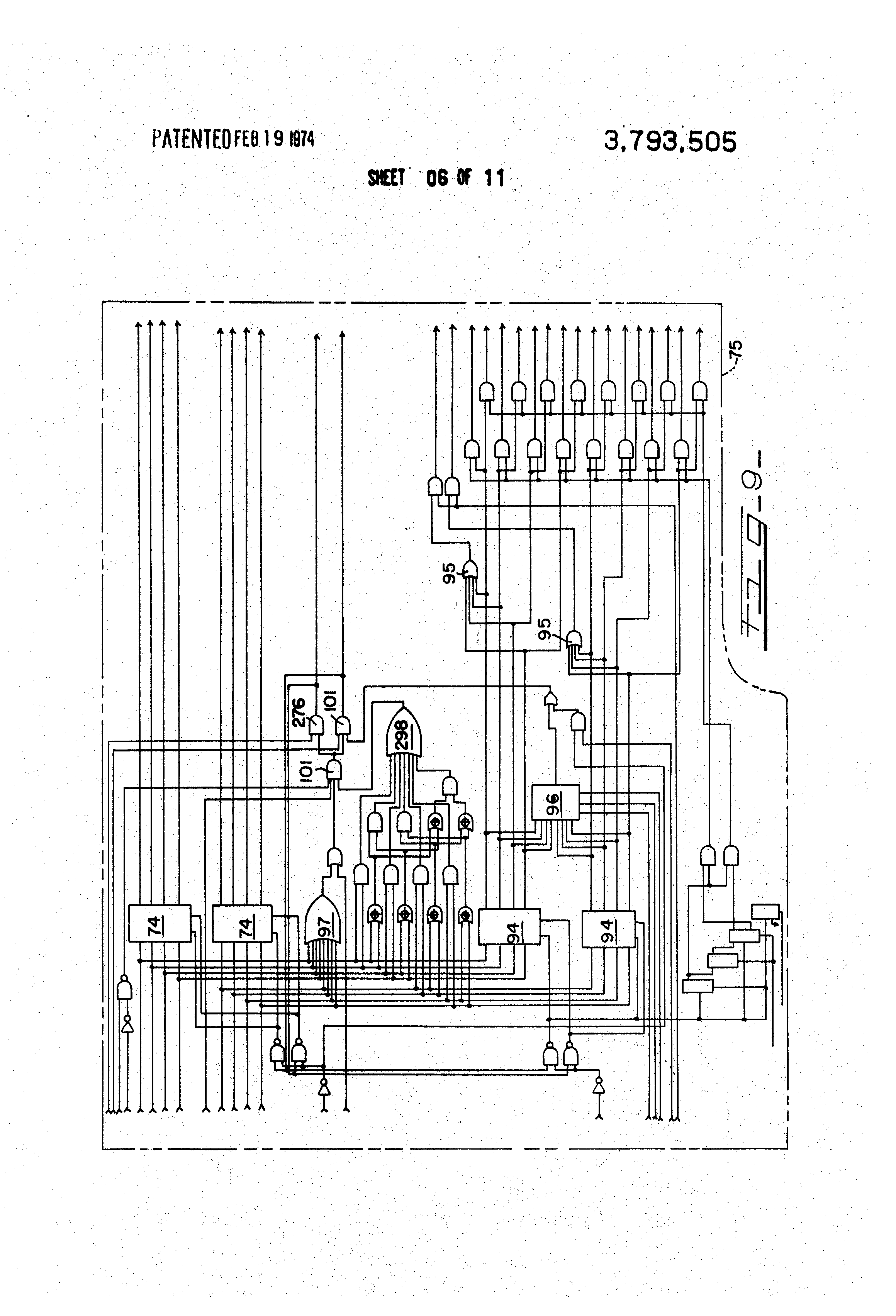 patent us3793505 - electronic voting machine
