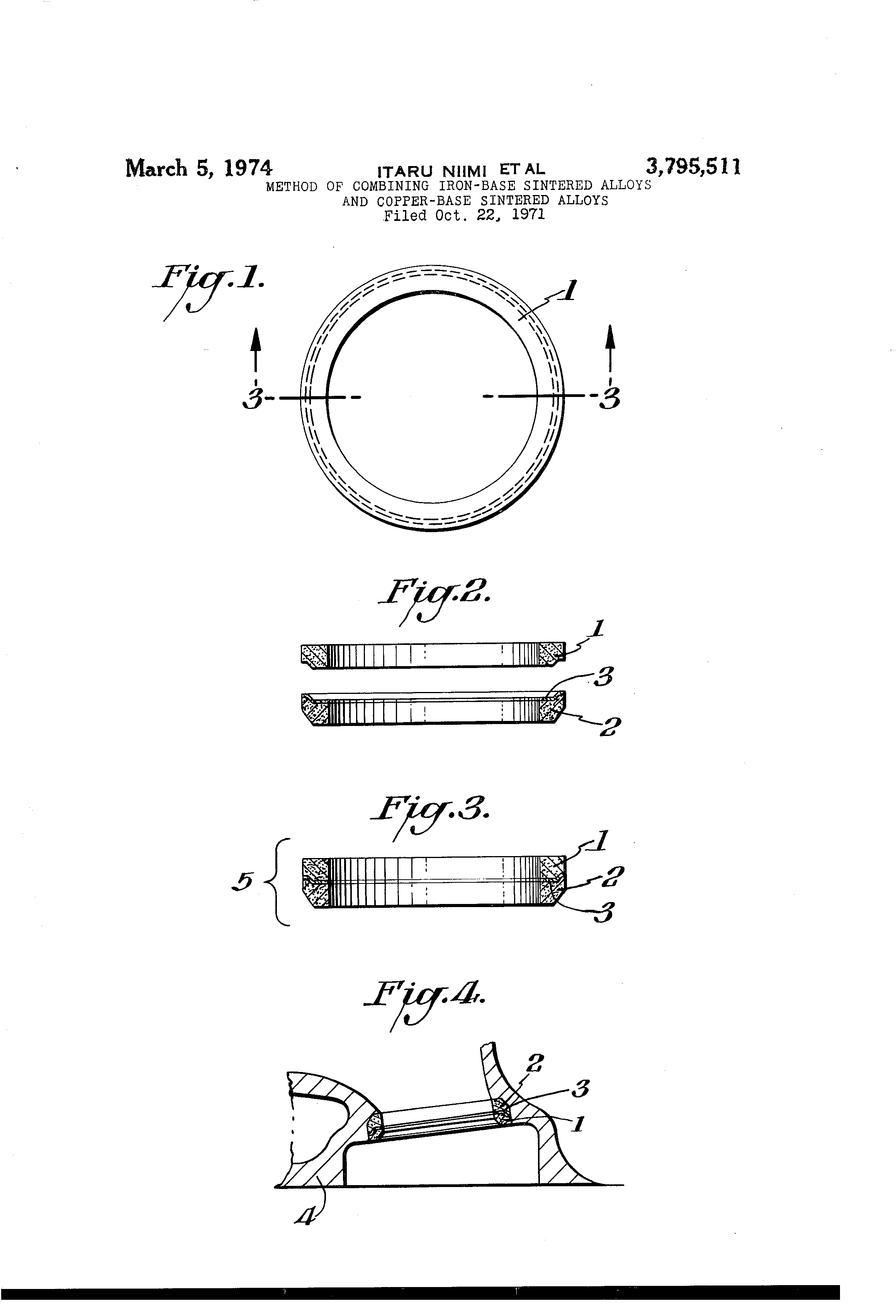 Patente Us3795511 Method Of Combining Iron Base Sintered Alloys Moonshine Still Drawing Diagram Patent