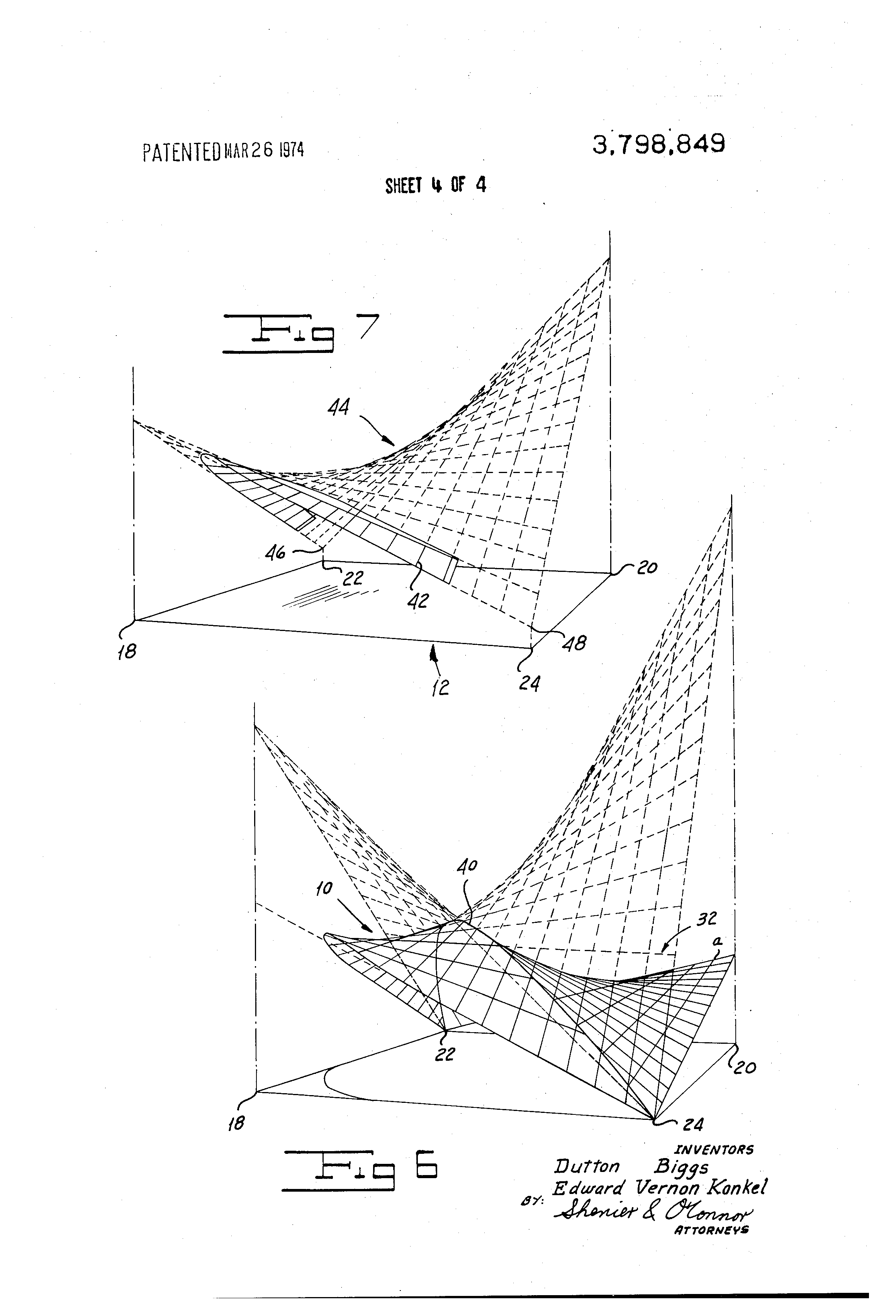 patent us hyperbolic paraboloid roof structure google