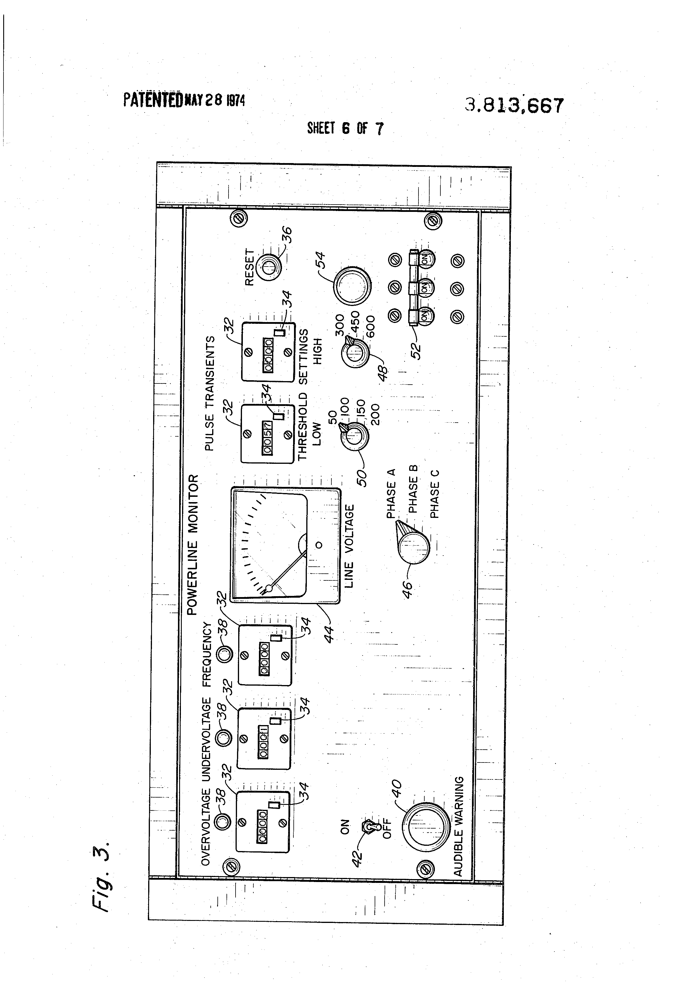 US3813667 6 patent us3813667 three phase power disturbance monitor google Hecon Device at eliteediting.co
