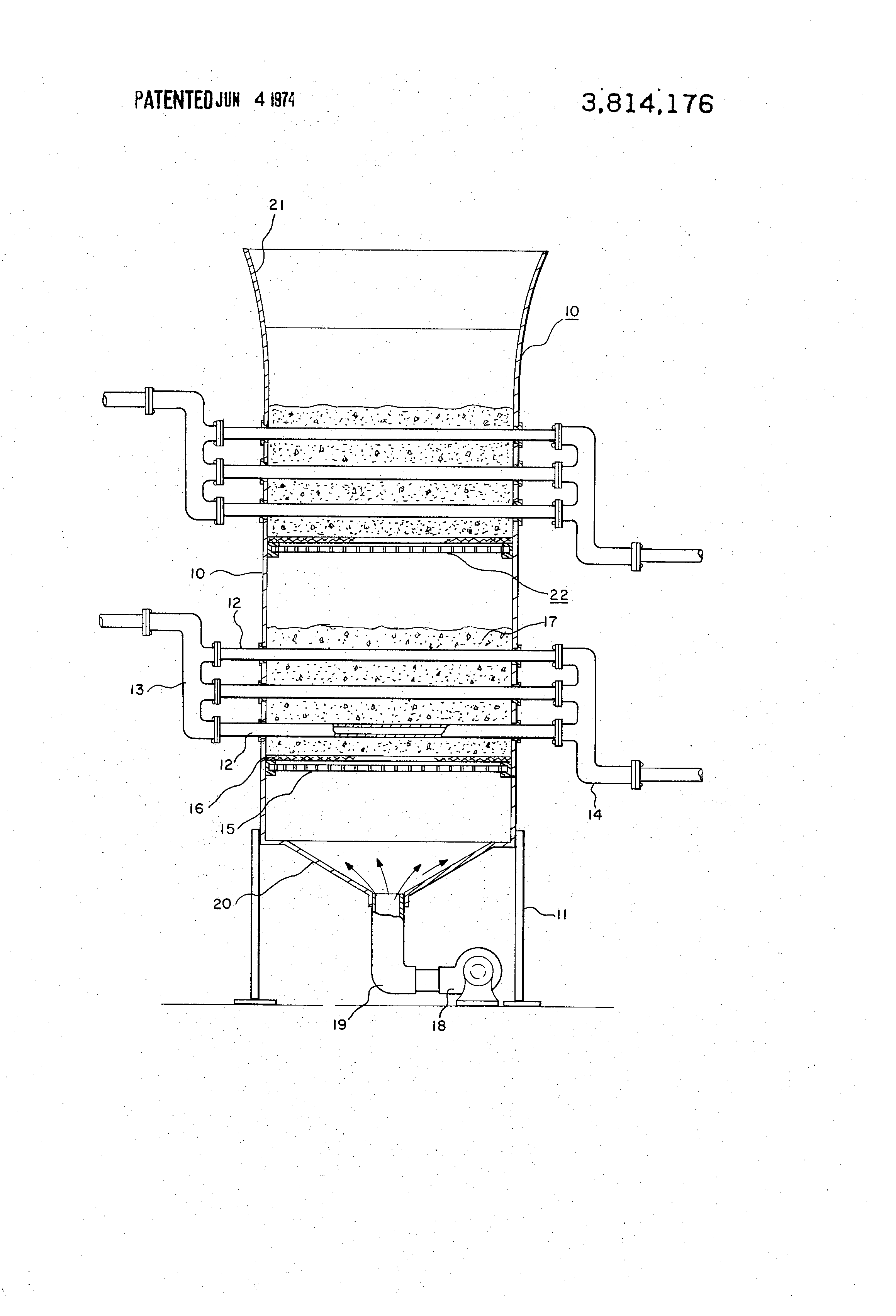 Patent US Fixed fluidized bed dry cooling tower Google