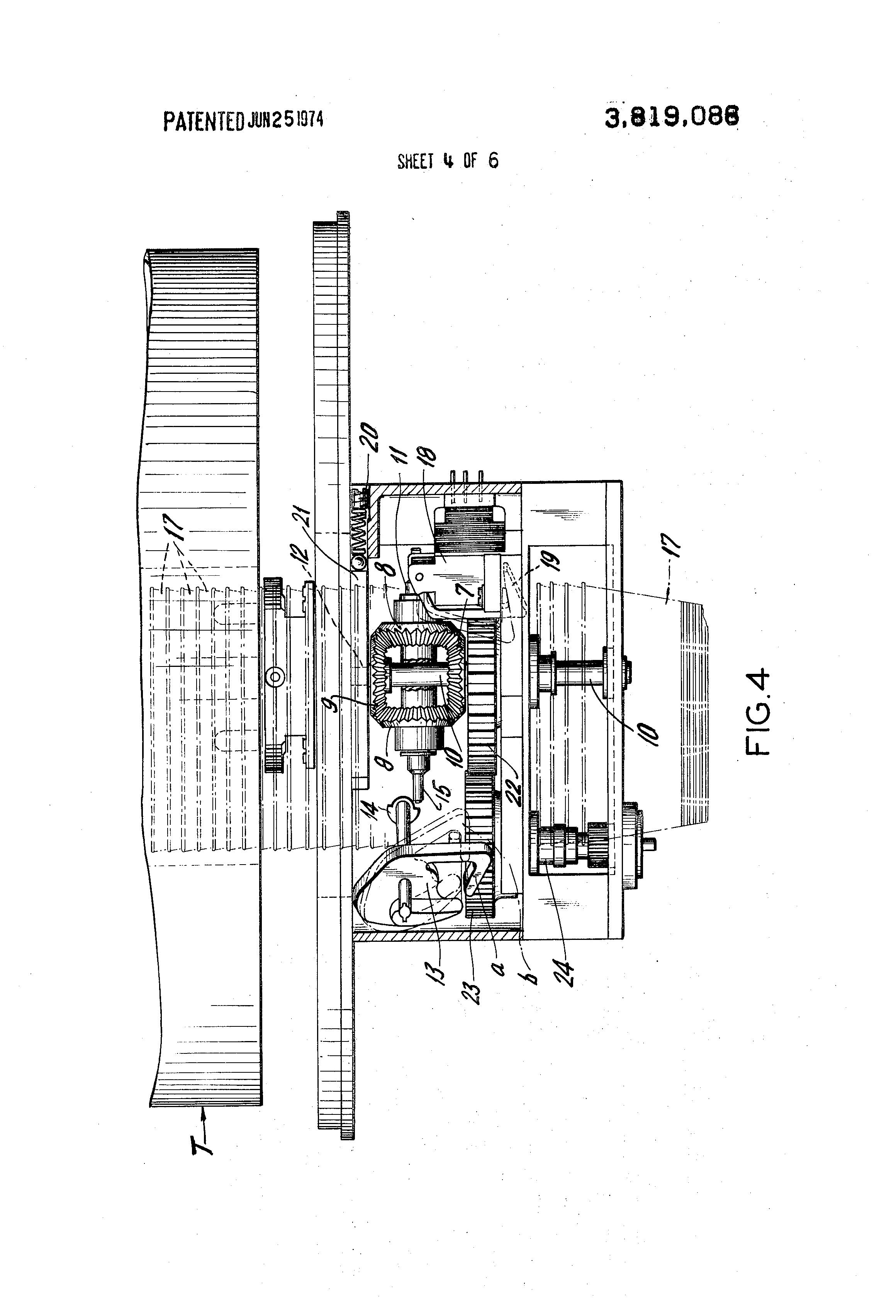 patent us3819086
