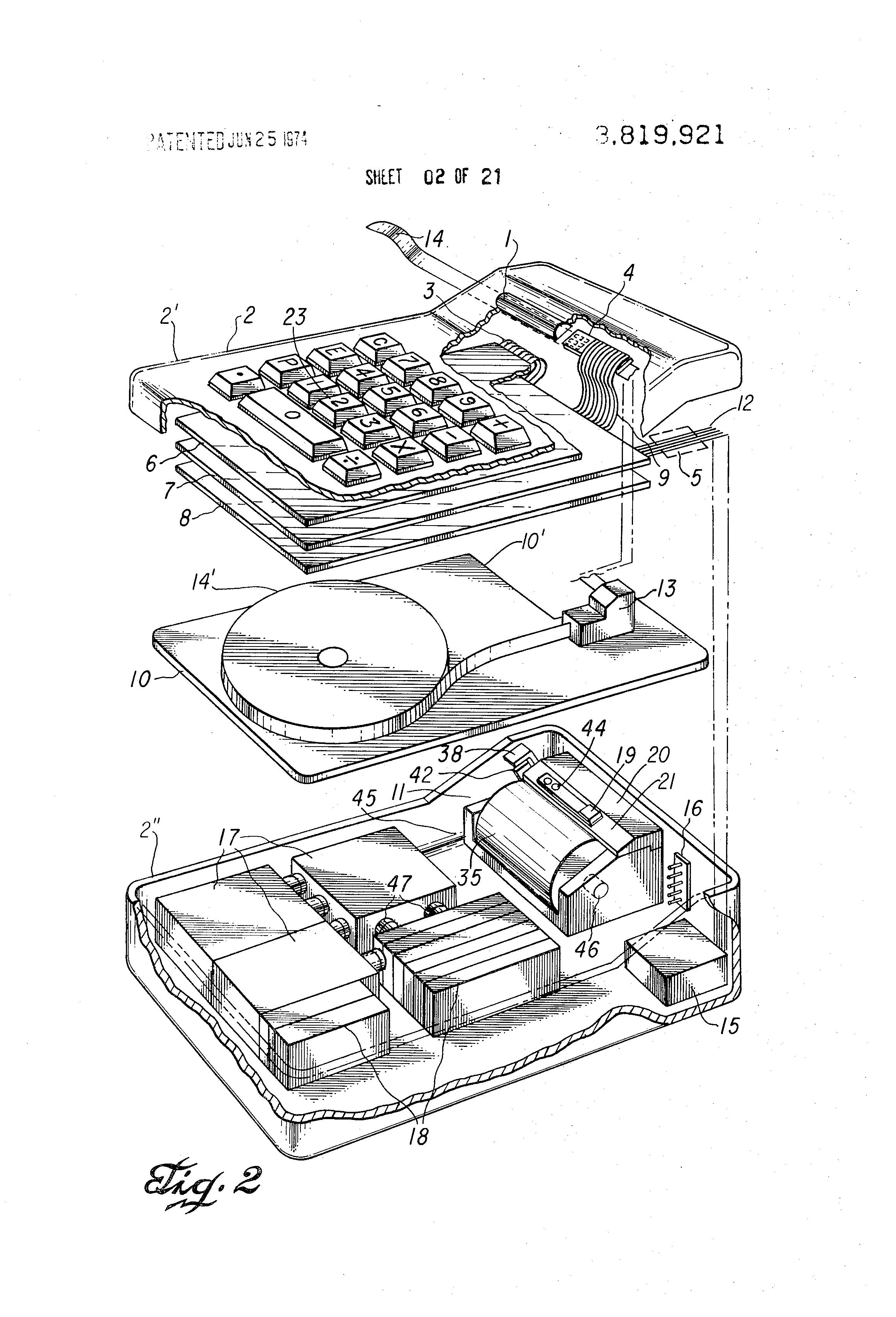 patent us3819921