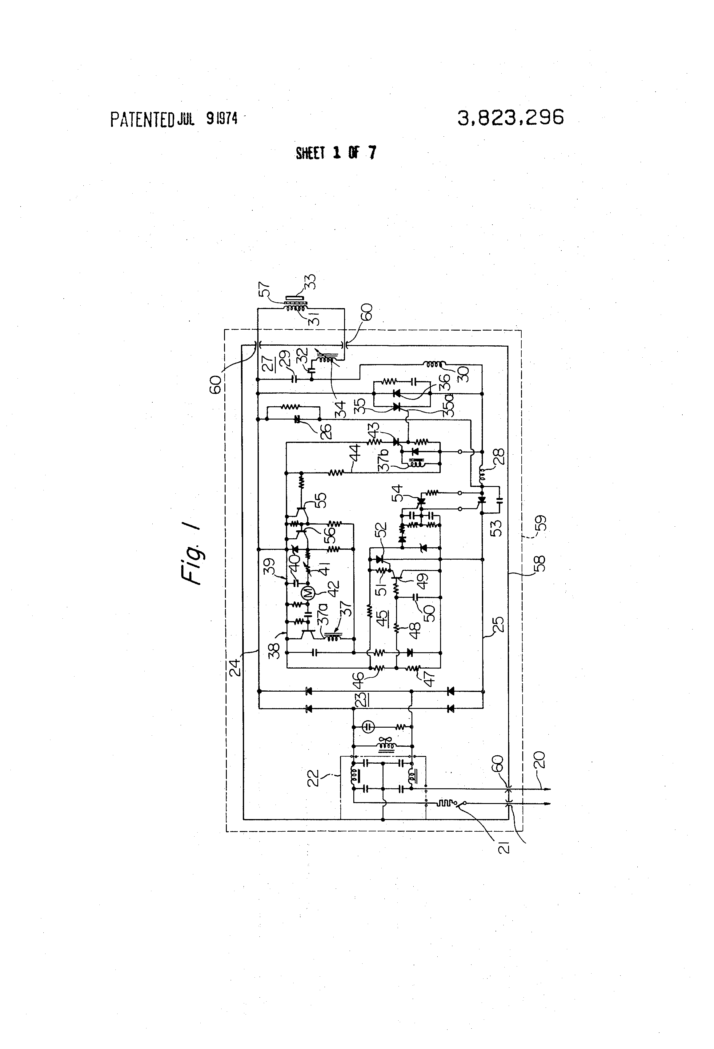 Patent Us3823296 Induction Heating Coil Arrangement In Diagram Drawing