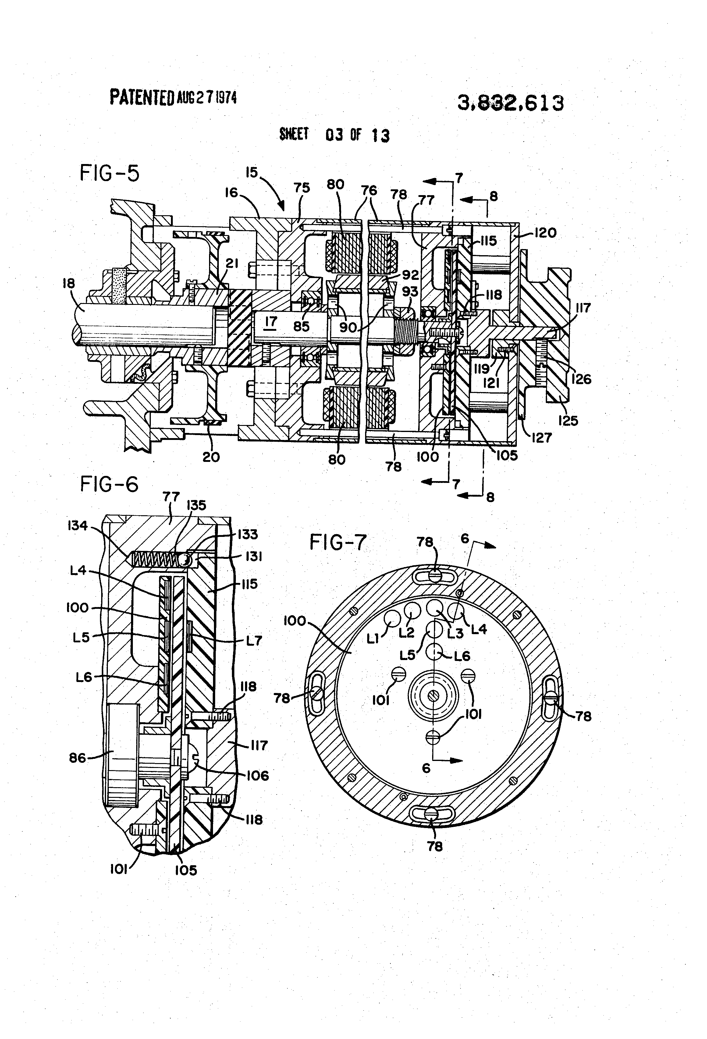 US3832613 3 patent us3832613 sewing machine motor and control circuit singer sewing machine wiring diagram at readyjetset.co