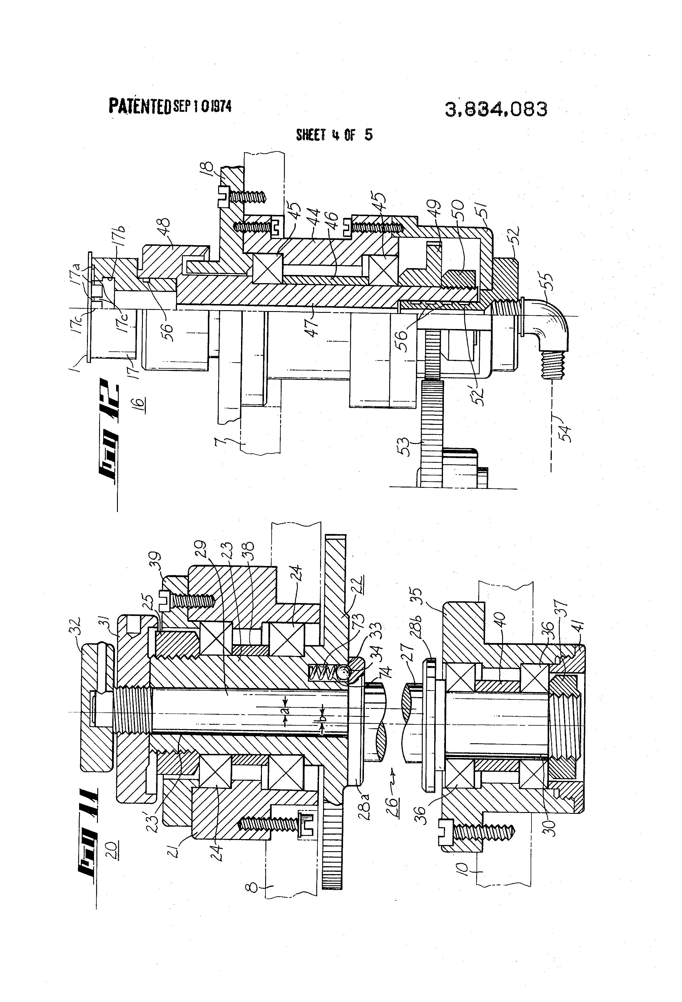 Patent US3834083 - Machine for grinding an edge contour on a ...