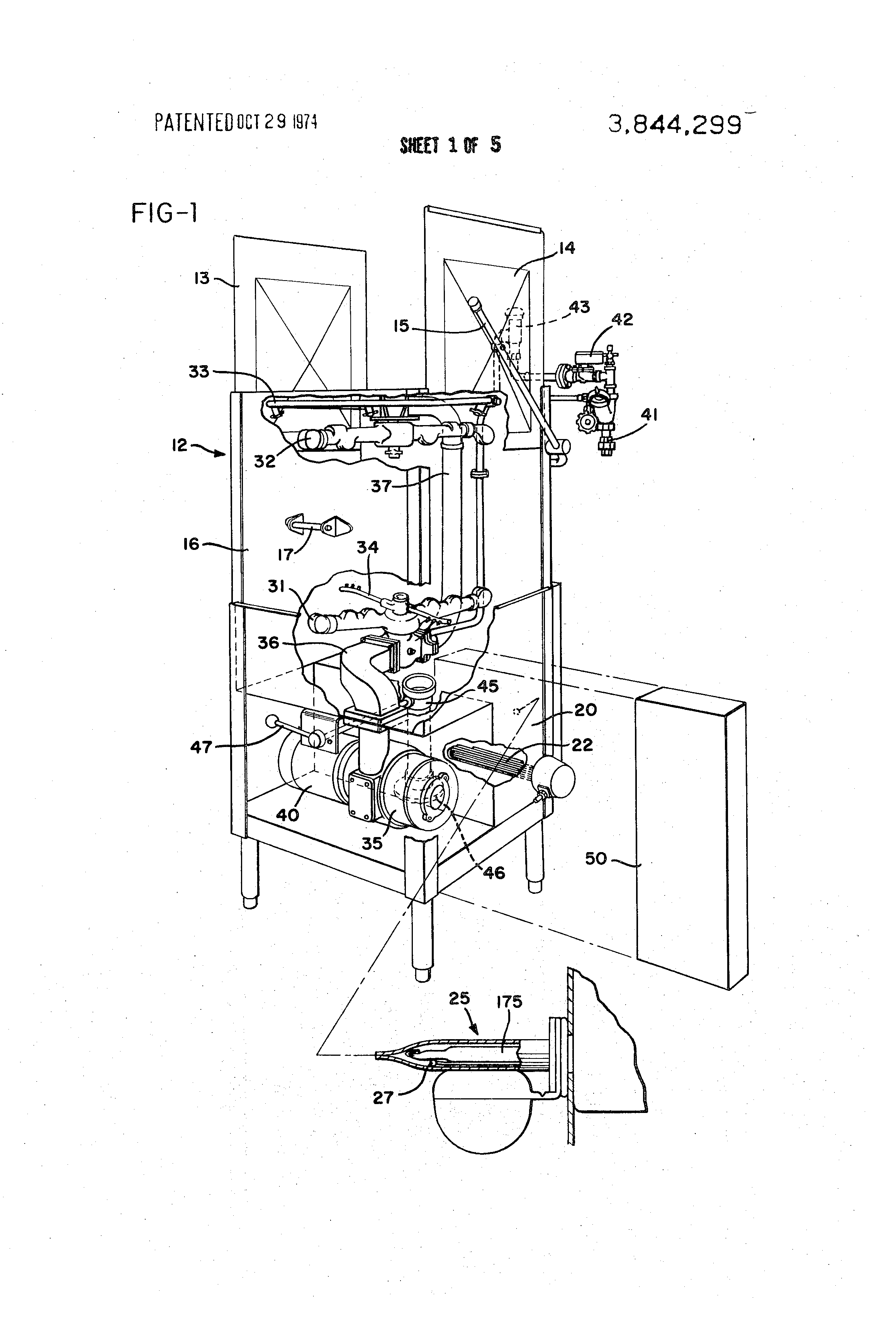 Patent US3844299 Control circuit for dishwasher Google Patents – Landa Wiring Diagrams