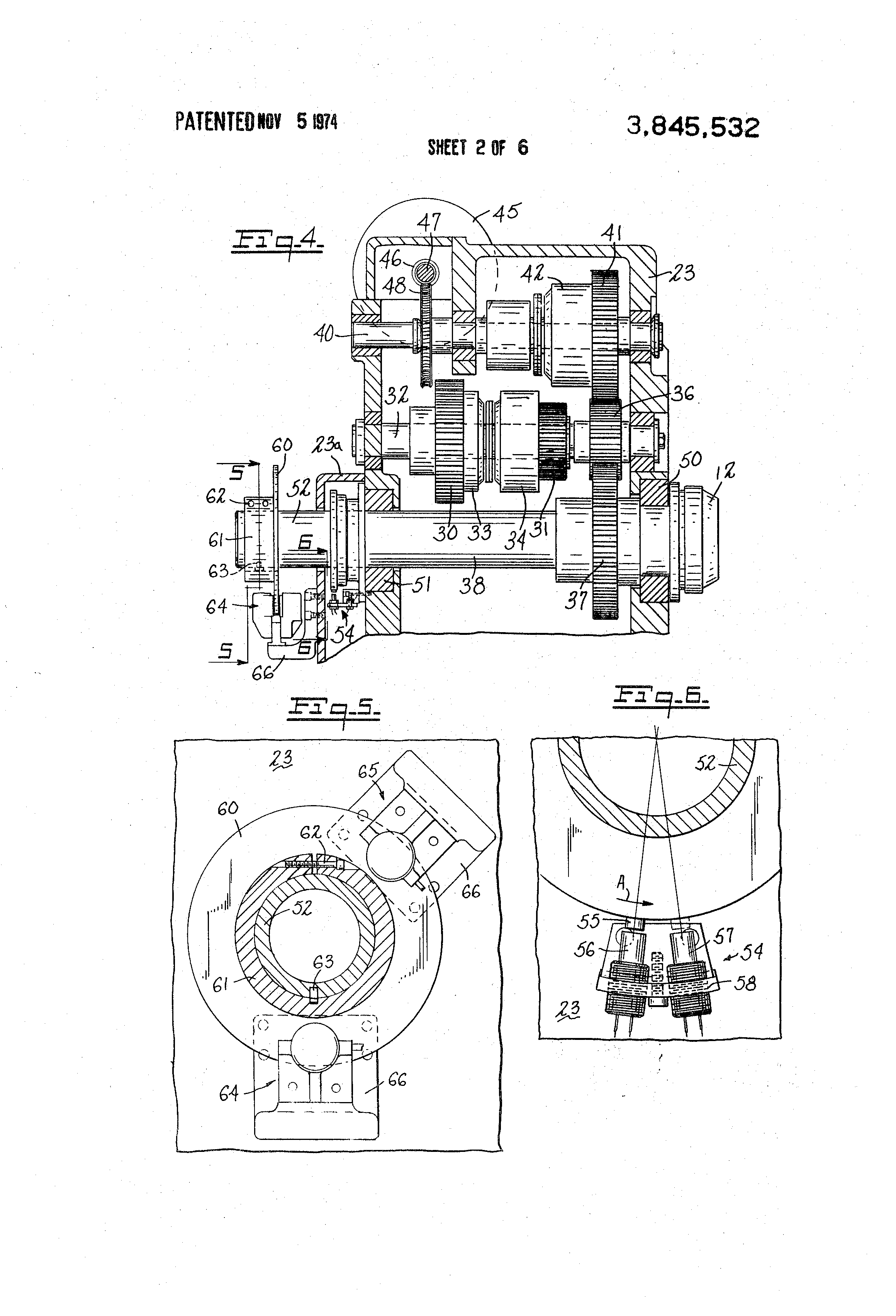 Patent Us3845532 Turret Lathe Google Patenten 1986 Evinrude 90 Hp Wiring Diagram Free Picture Drawing