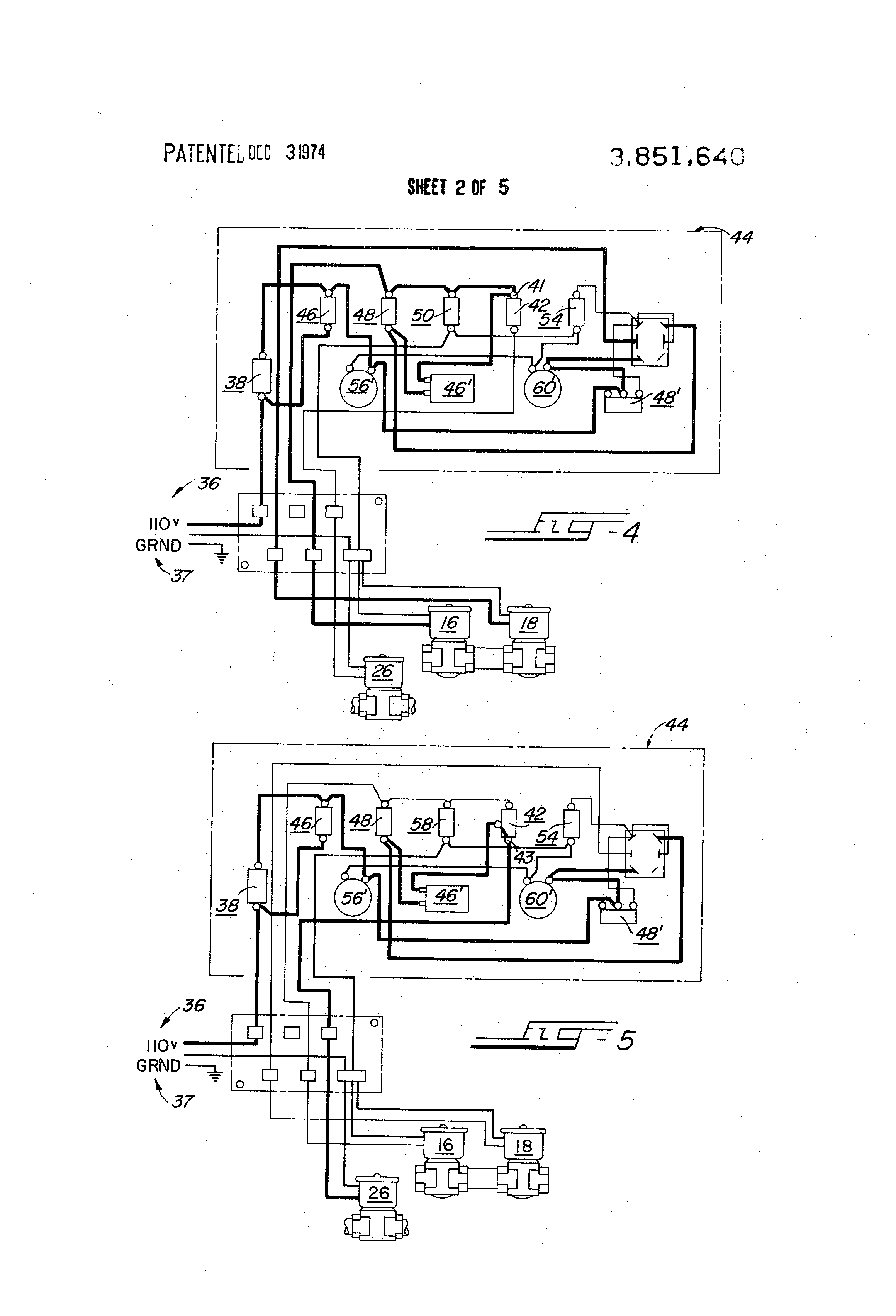 patent us3851640 deep fat fryer controllable heat up for patent drawing