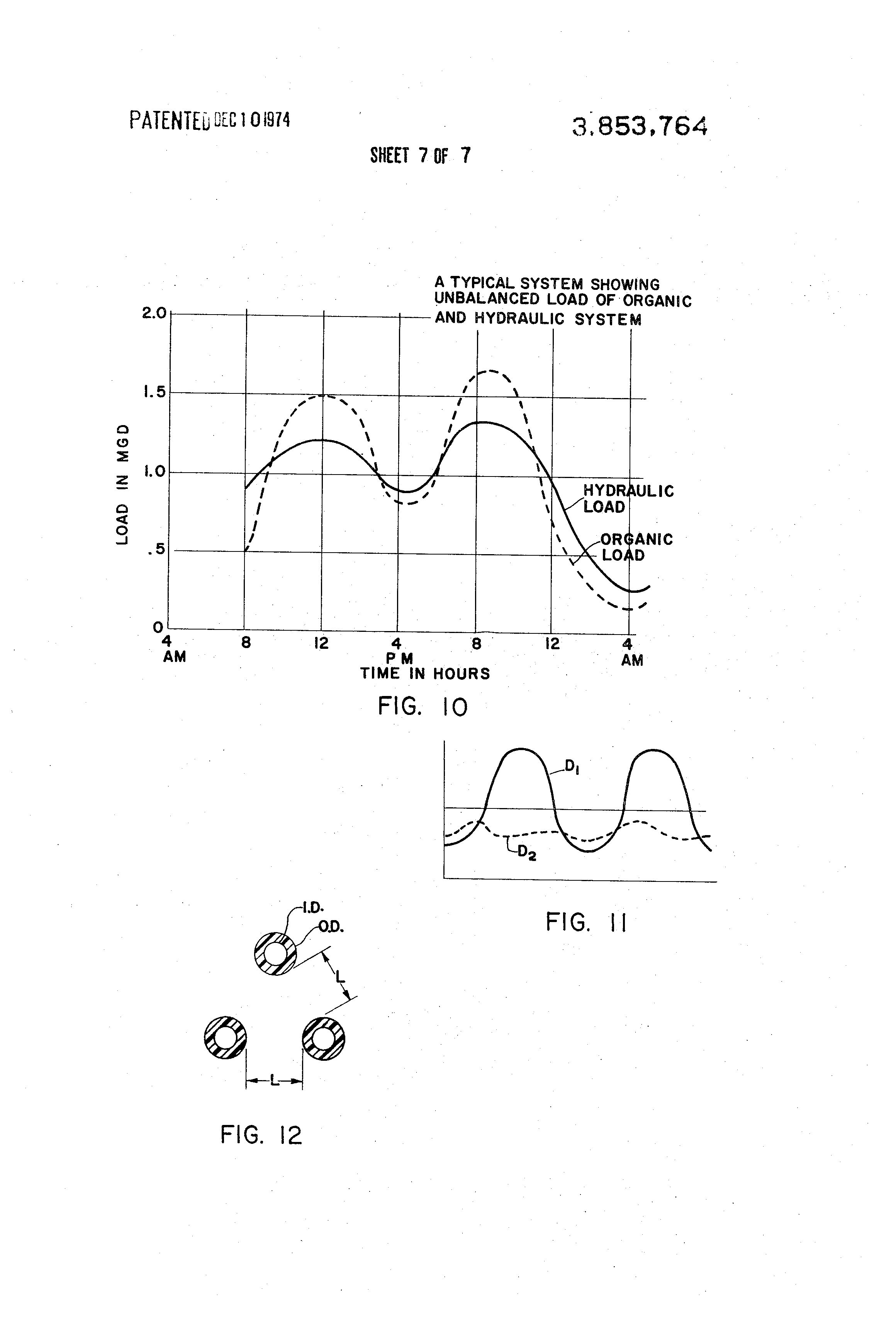 Patent Us3853764 Waste Water Treatment System Google Patents Schematic Drawing Of Hydraulic Circuit Showing Typical Locations