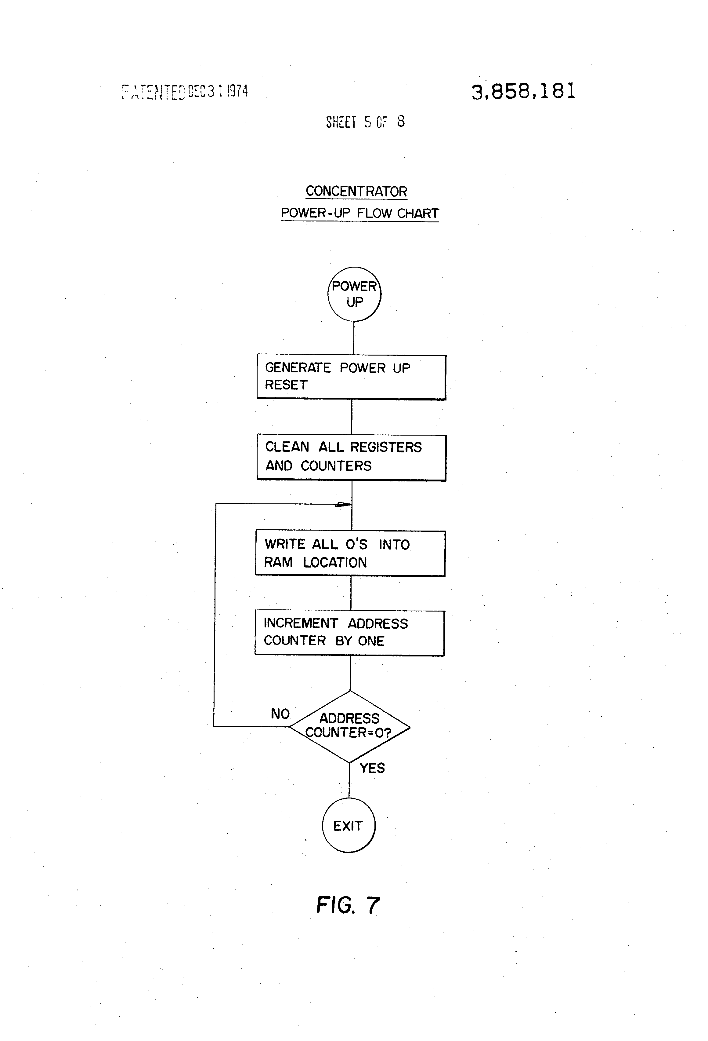 Patent Us3858181 Monitoring System Google Patentsuche Tv Remote Control Circuit Diagram Controlcircuit Drawing