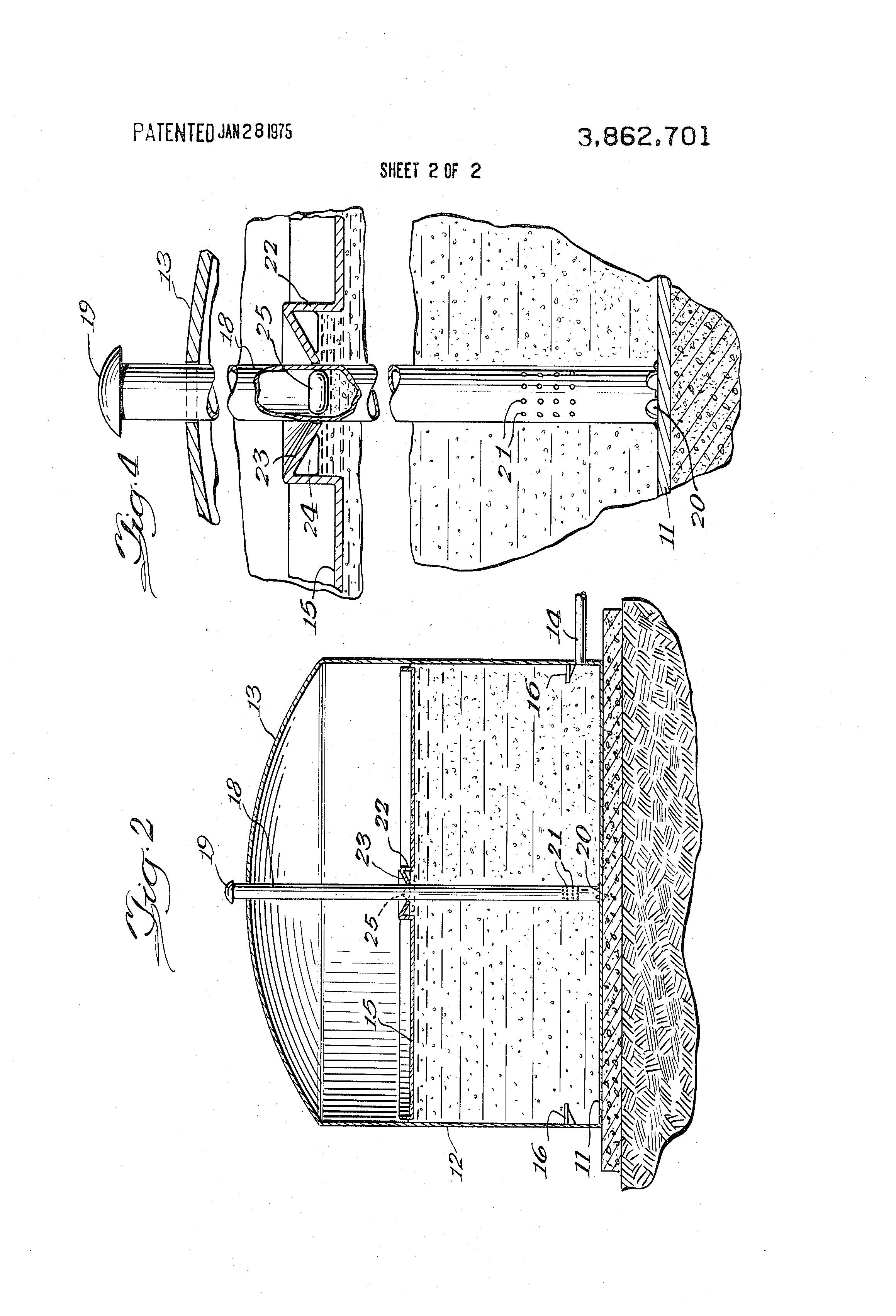 Patent Us3862701 Automatic Bleeder Vent For Covered