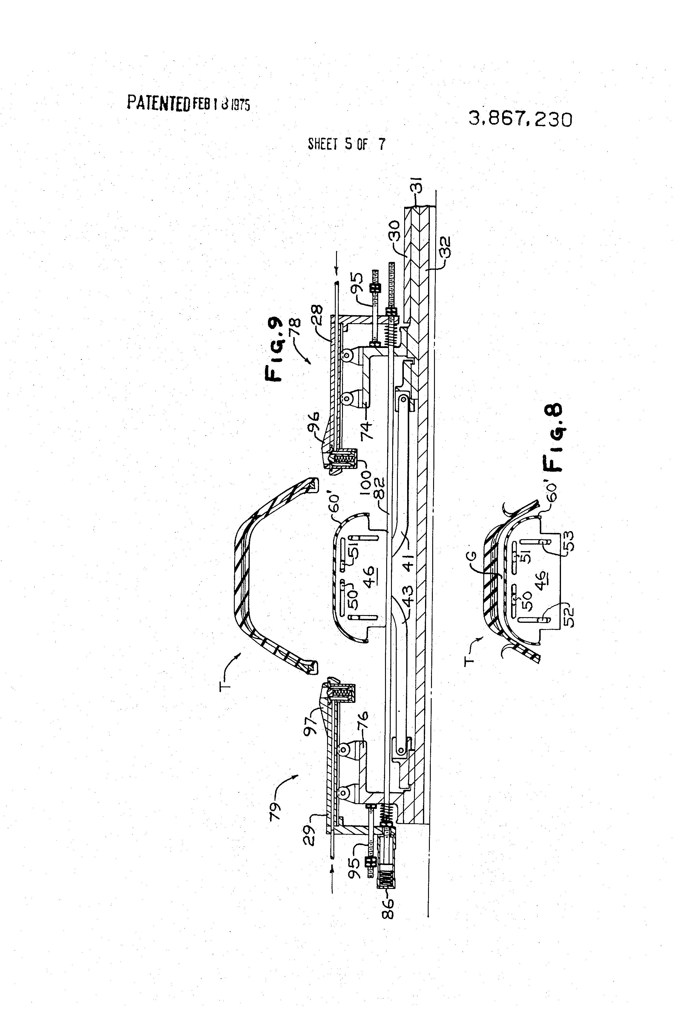 Us3867230 Tire Building Machine Google Schematic Diagram 7230 Patent Drawing