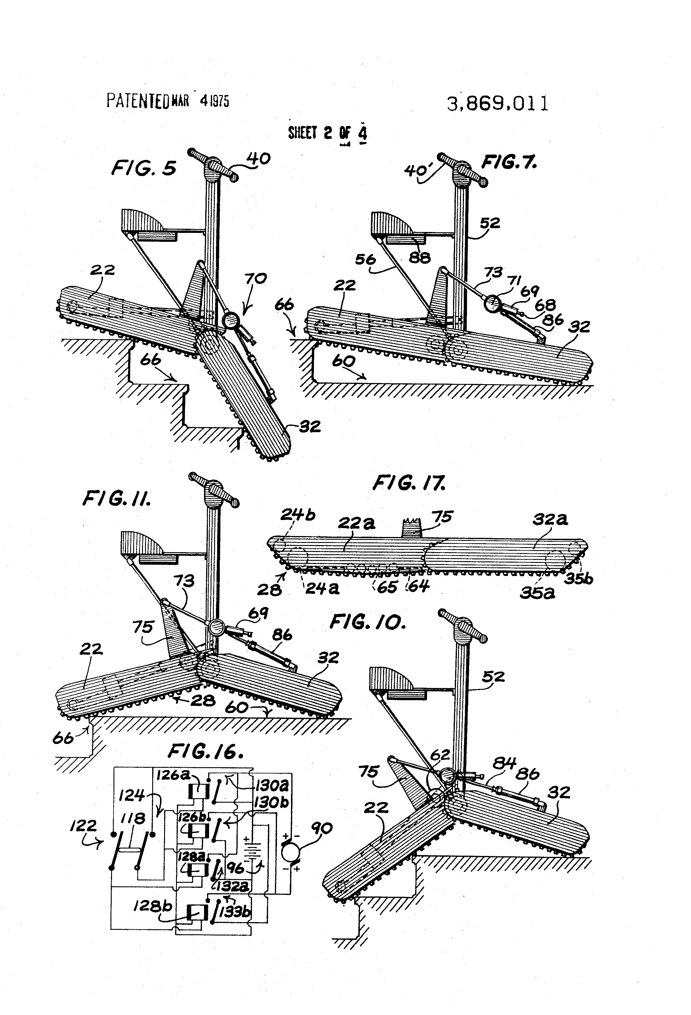Patent US Stair climbing tracked vehicle Google Patents