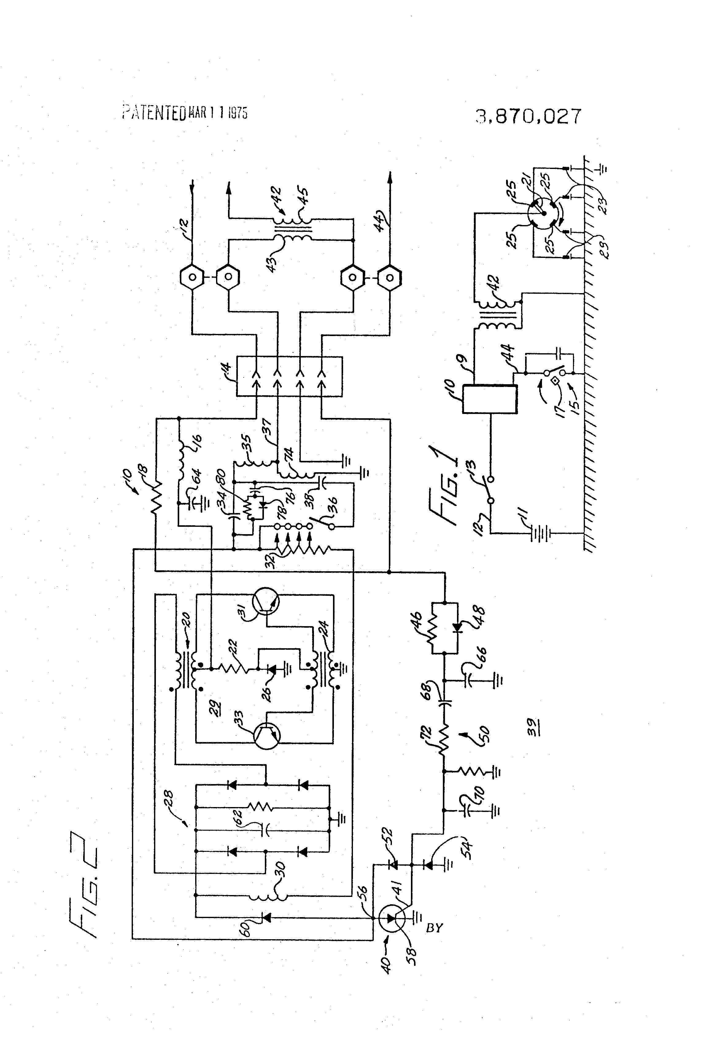 براءة الاختراع US3870027 - Capacitive discharge ignition