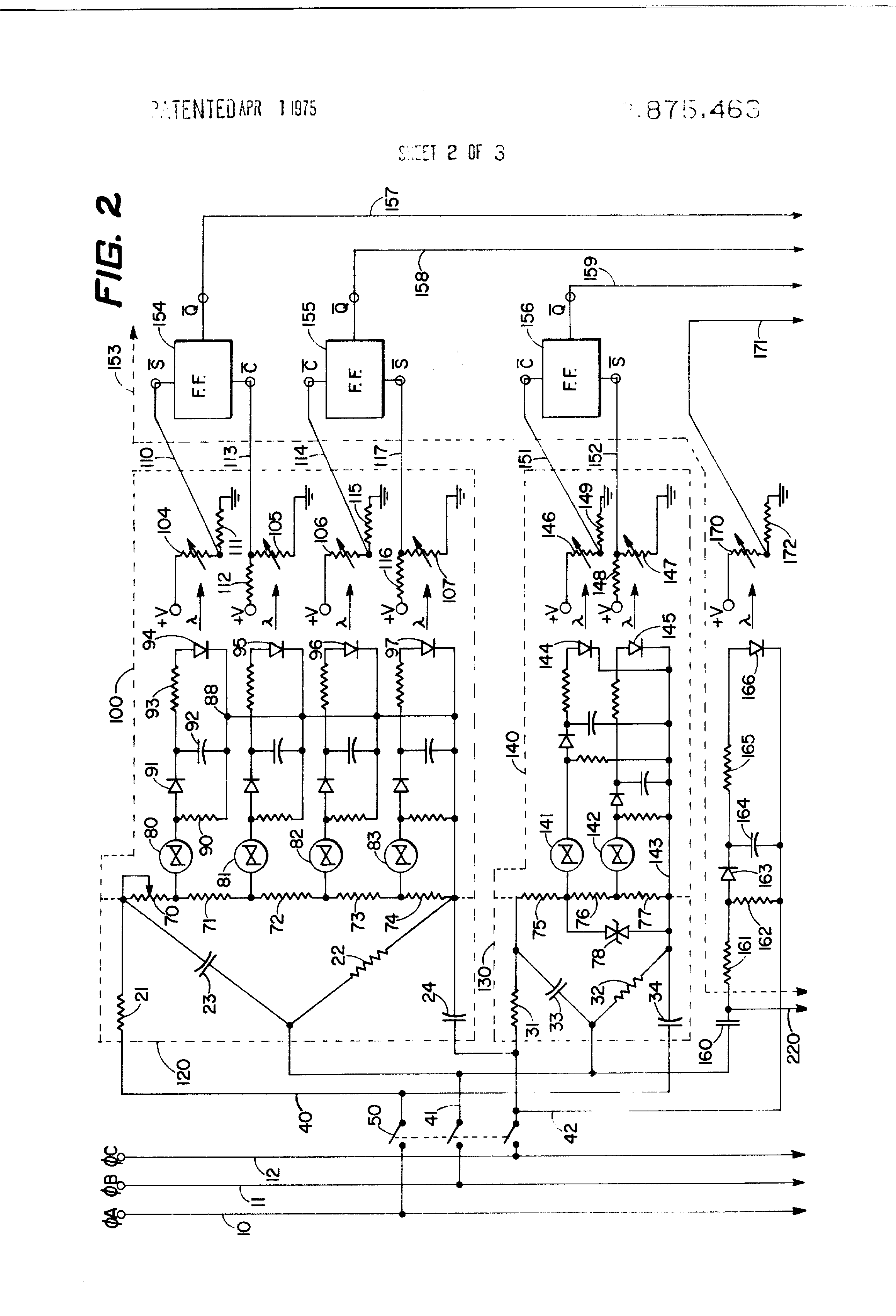 Patent us3875463 motor protection circuit and automatic for Electrical motor controls for integrated systems 4th edition