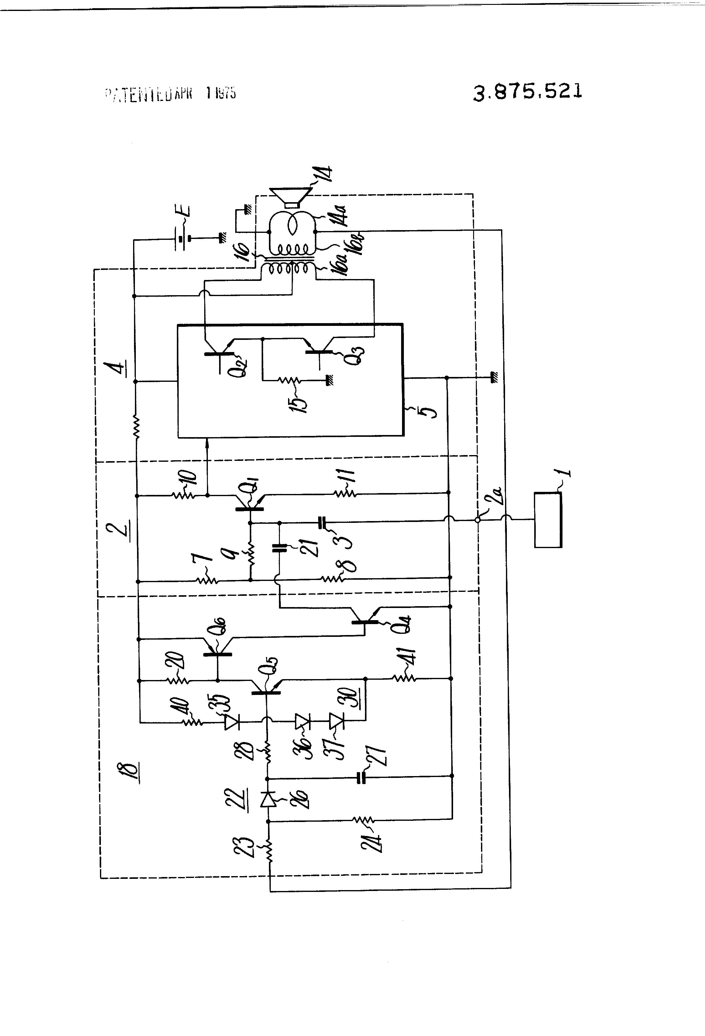 Patent US3875521 - Automatic gain control circuit - Google Patents