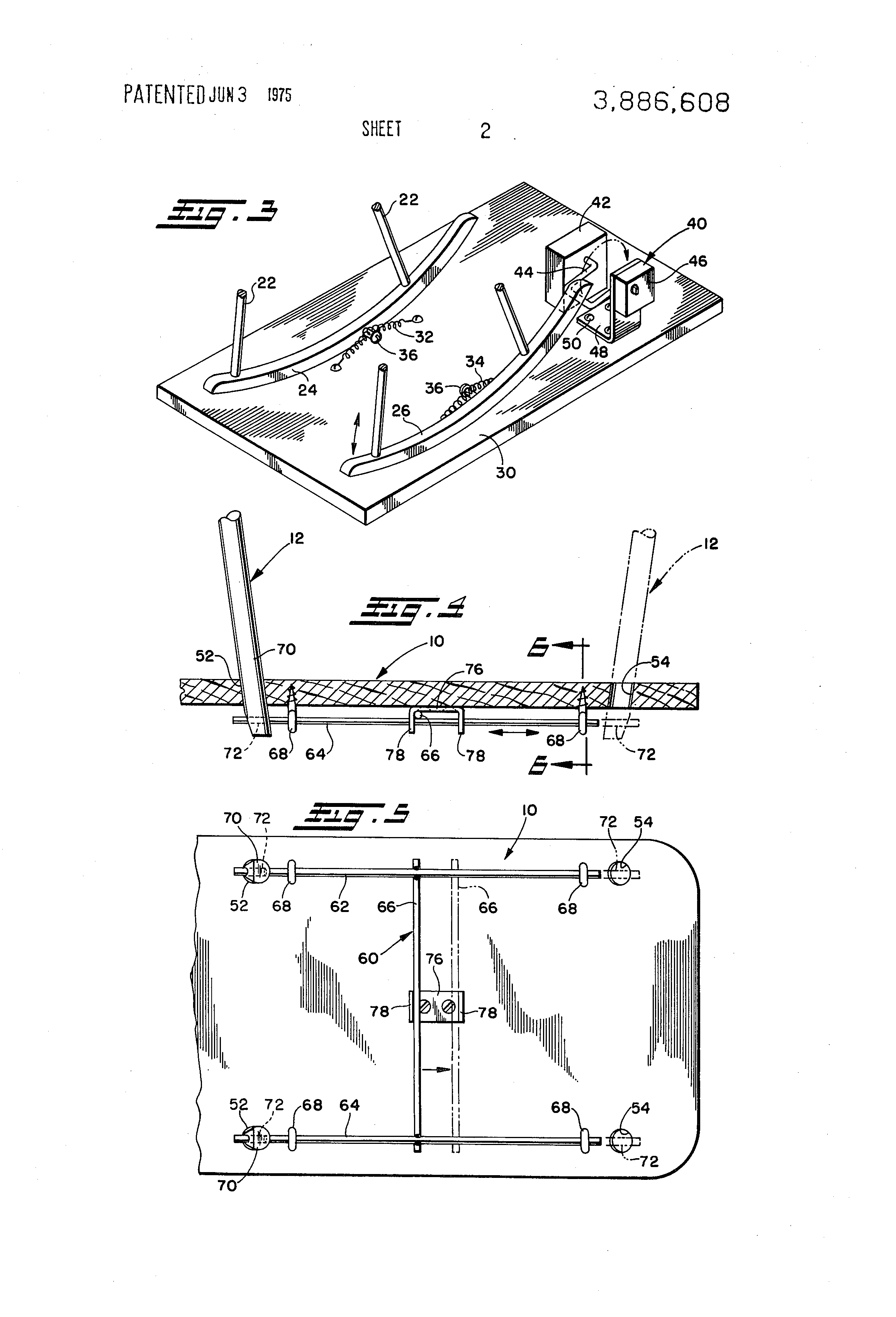 Patent US Rocking chair or cradle with rocking mechanism