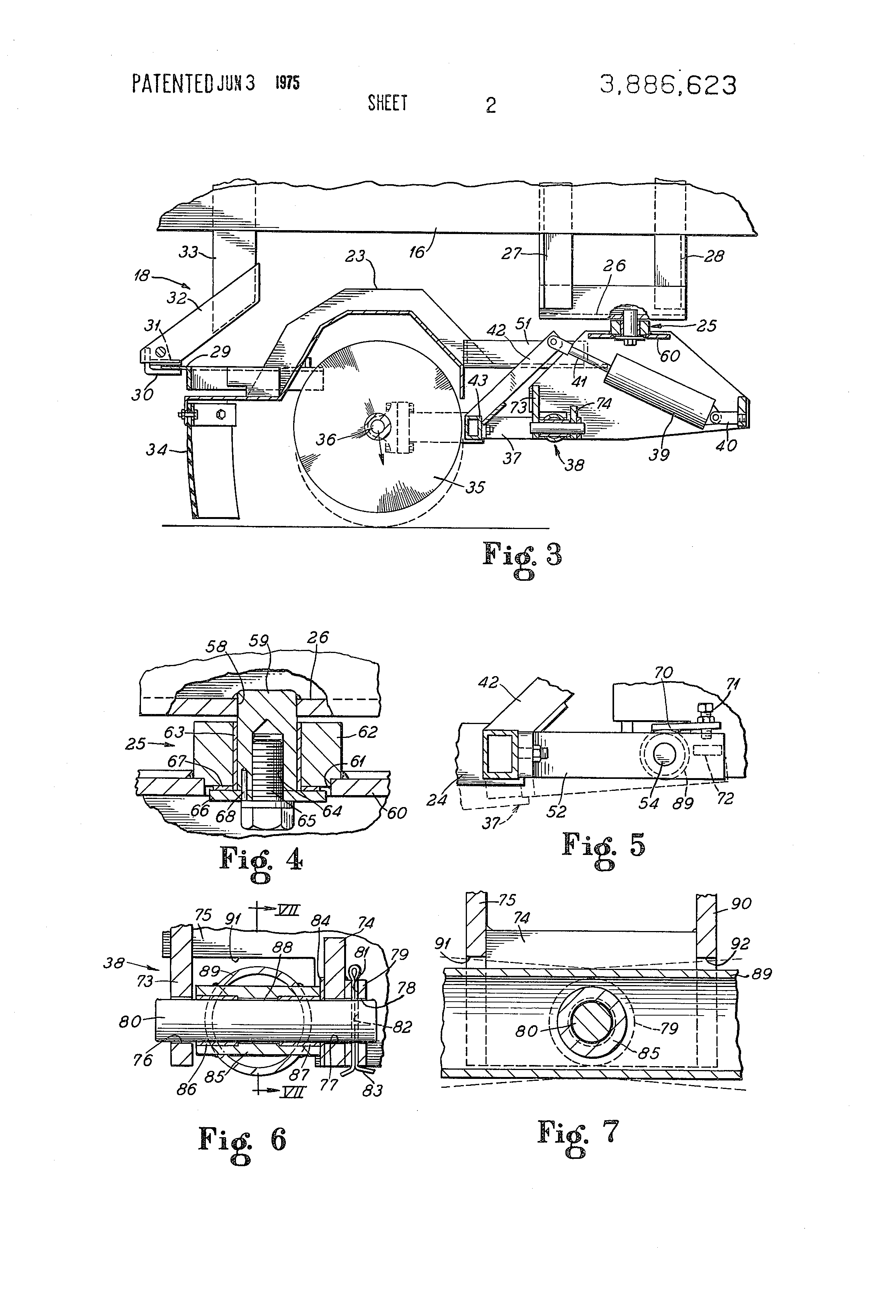 Patent us3886623 vacuum type sweeper google patents patent drawing hexwebz Images