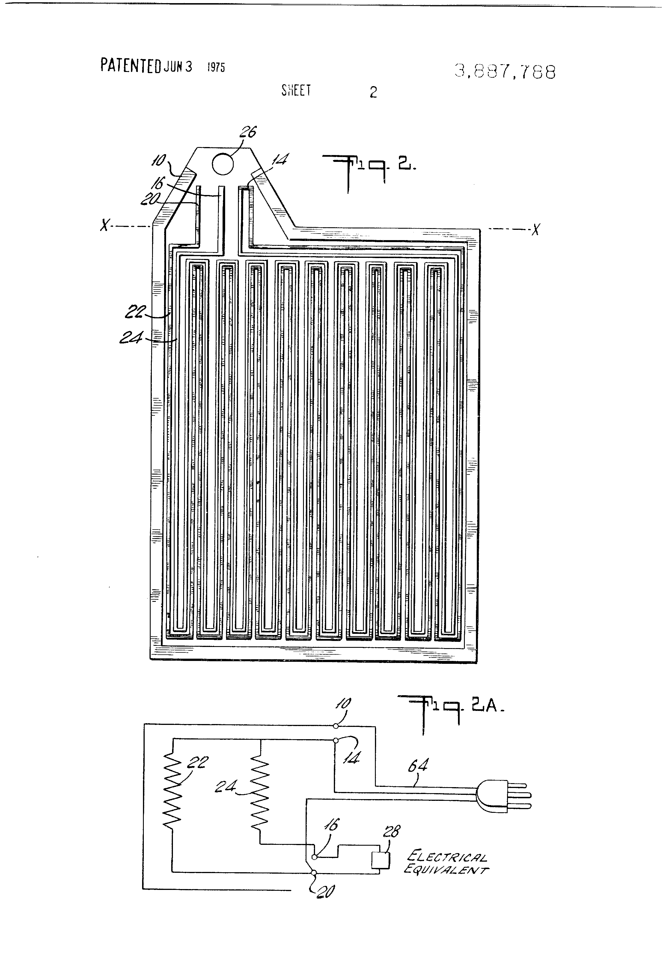 Sprague Wiring Diagram Heated Mirrors Posts Electrical Nissan Titan Patent Us3887788 Condensation Free Mirror Google Patents