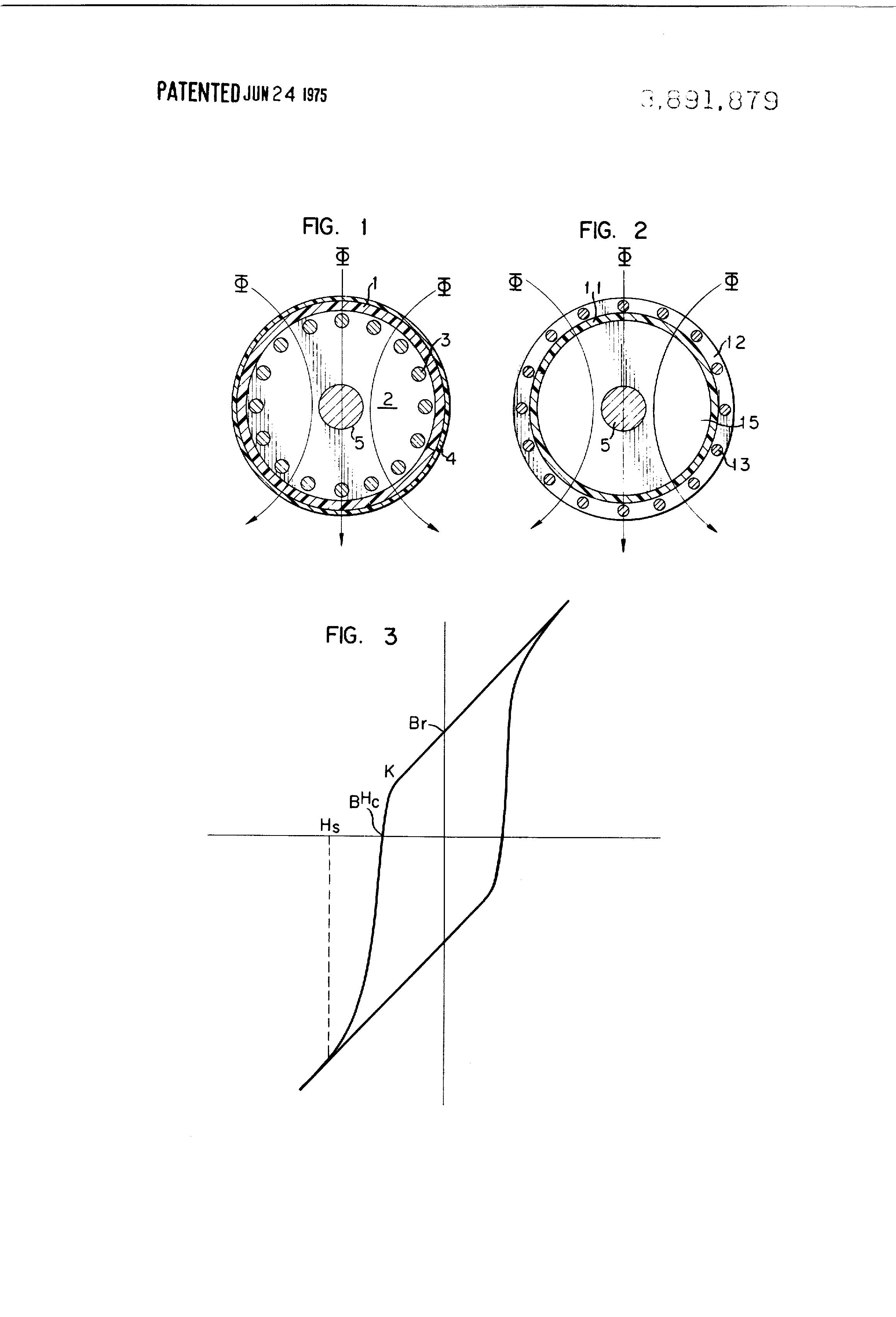hysteresis motor diagram